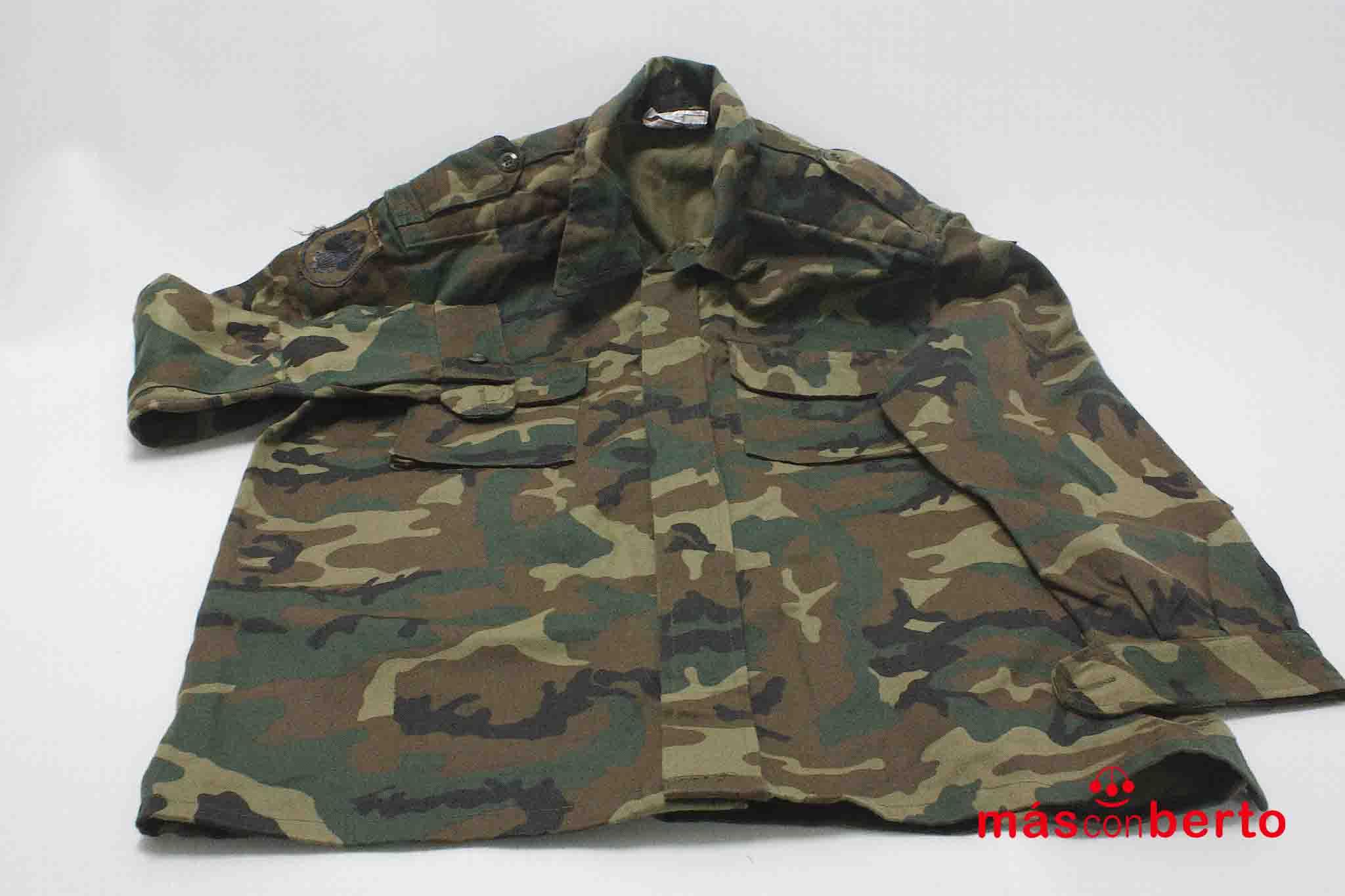 Camisa M/L militar boscosa...