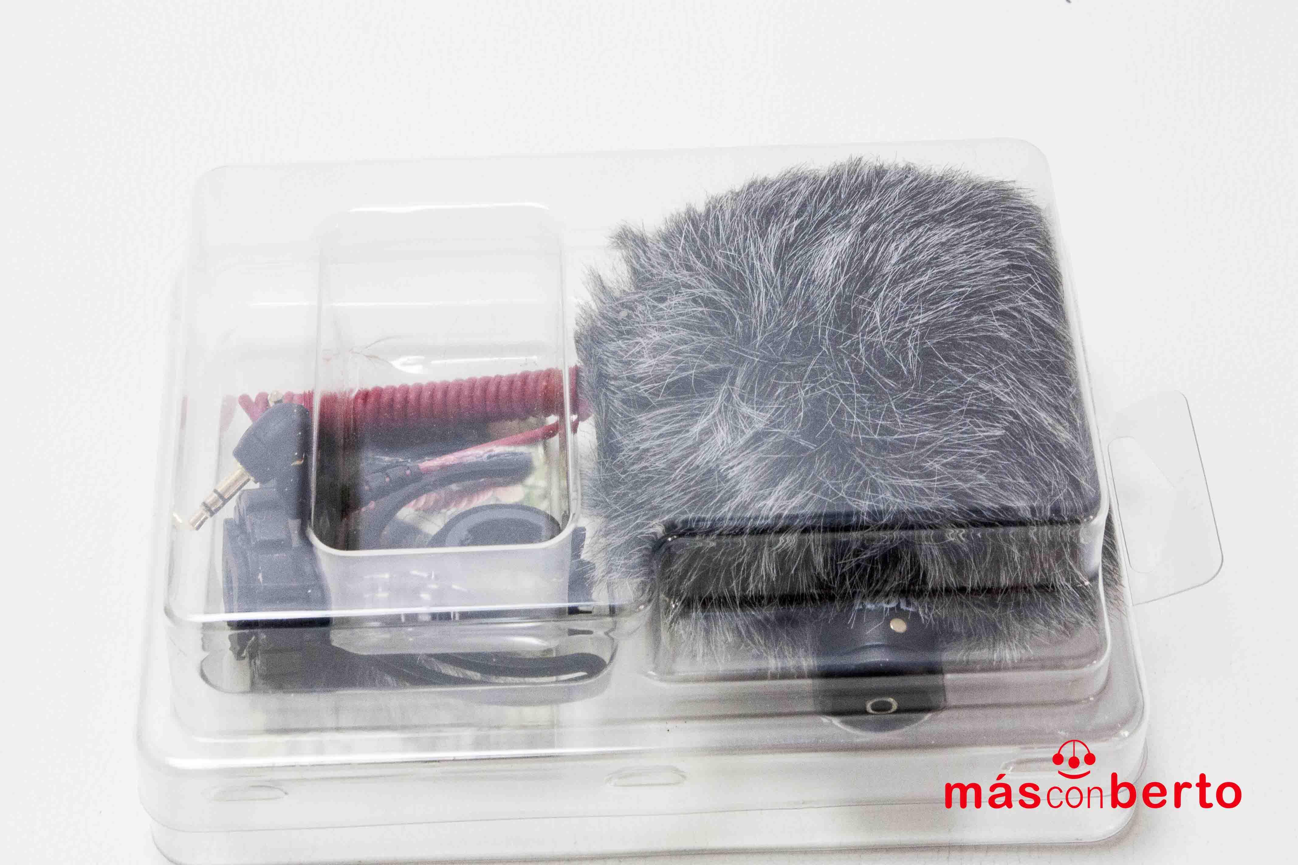 Micrófono para cámaras DSLR