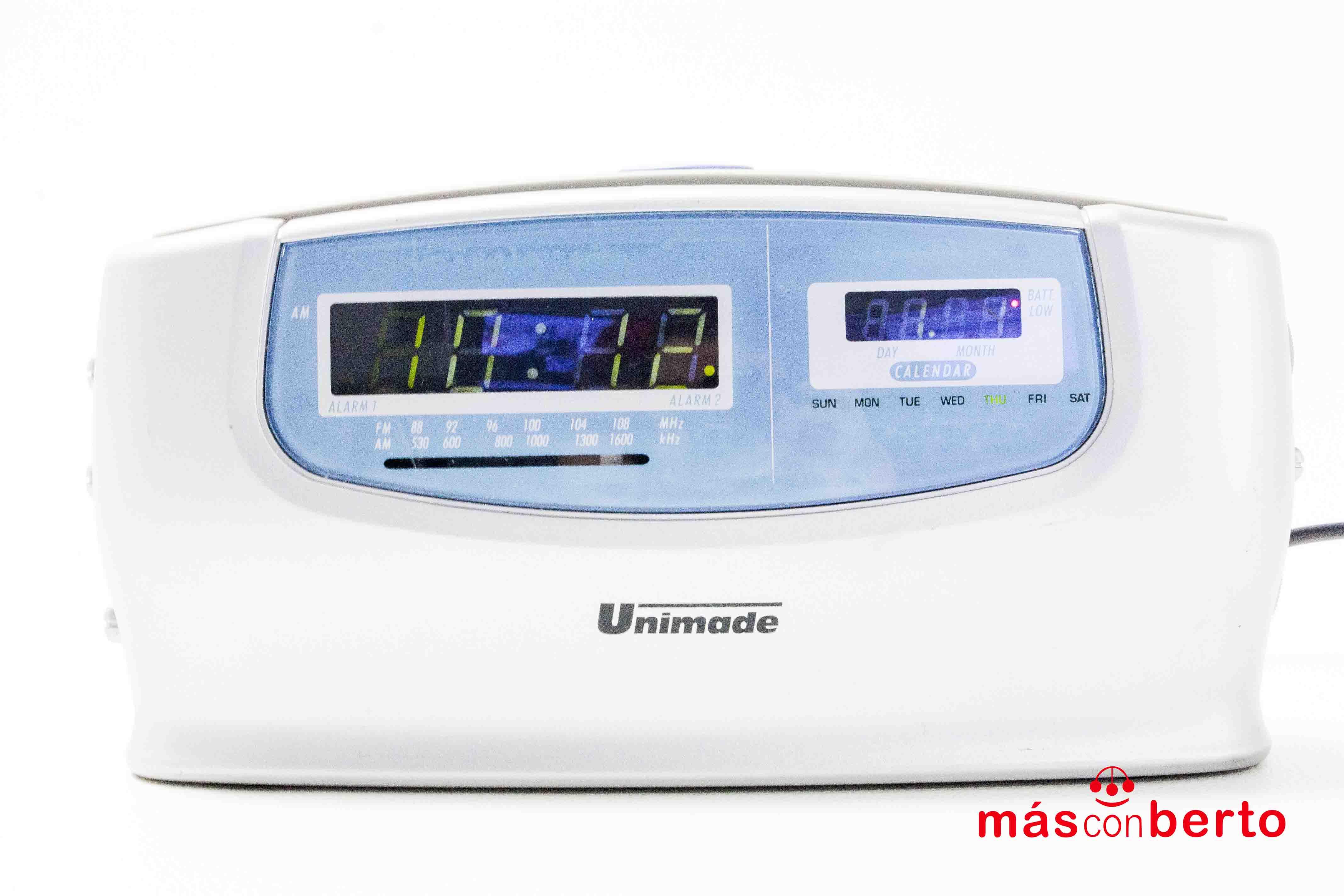 Radio despertador Unimade 4096