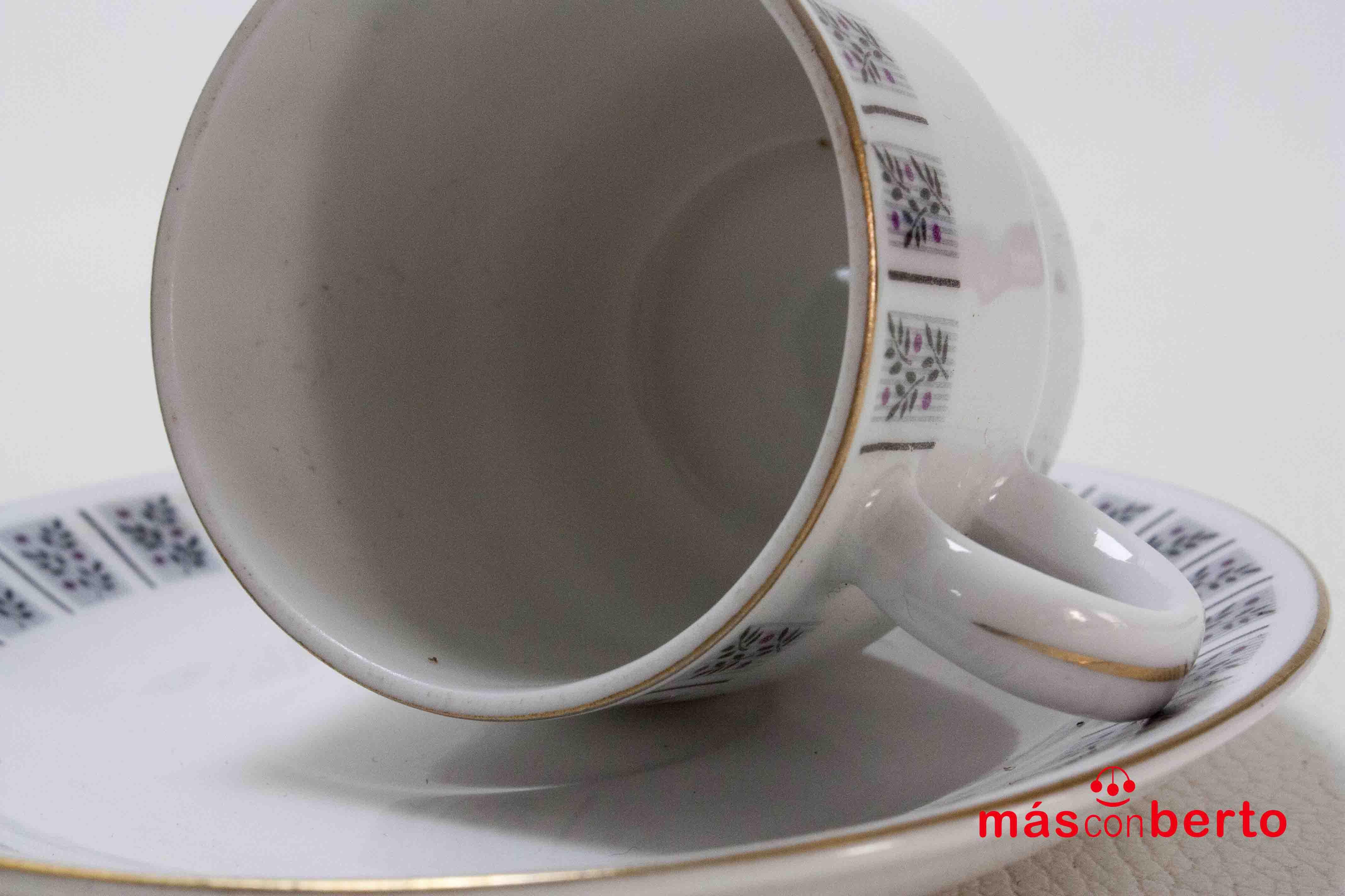6 tazas de café