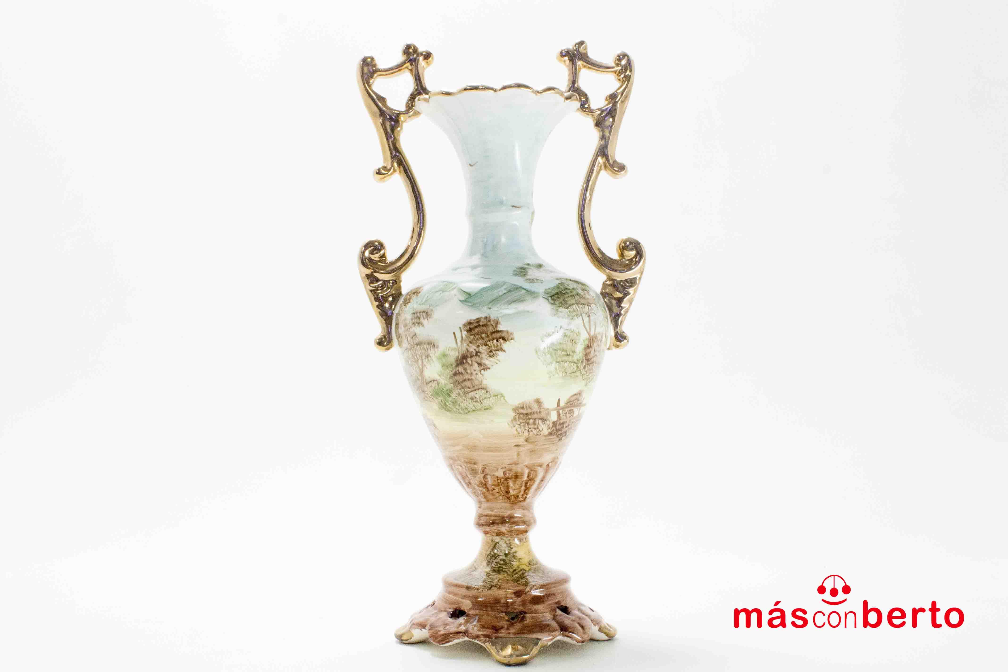 Jarrón decorativo cerámica...