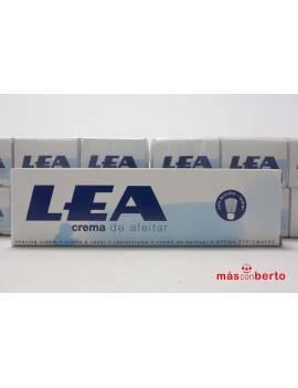 Crema de afeitar marca Lea...