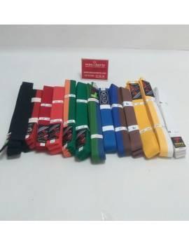 Cinturón Rojo/Negro 220cm...