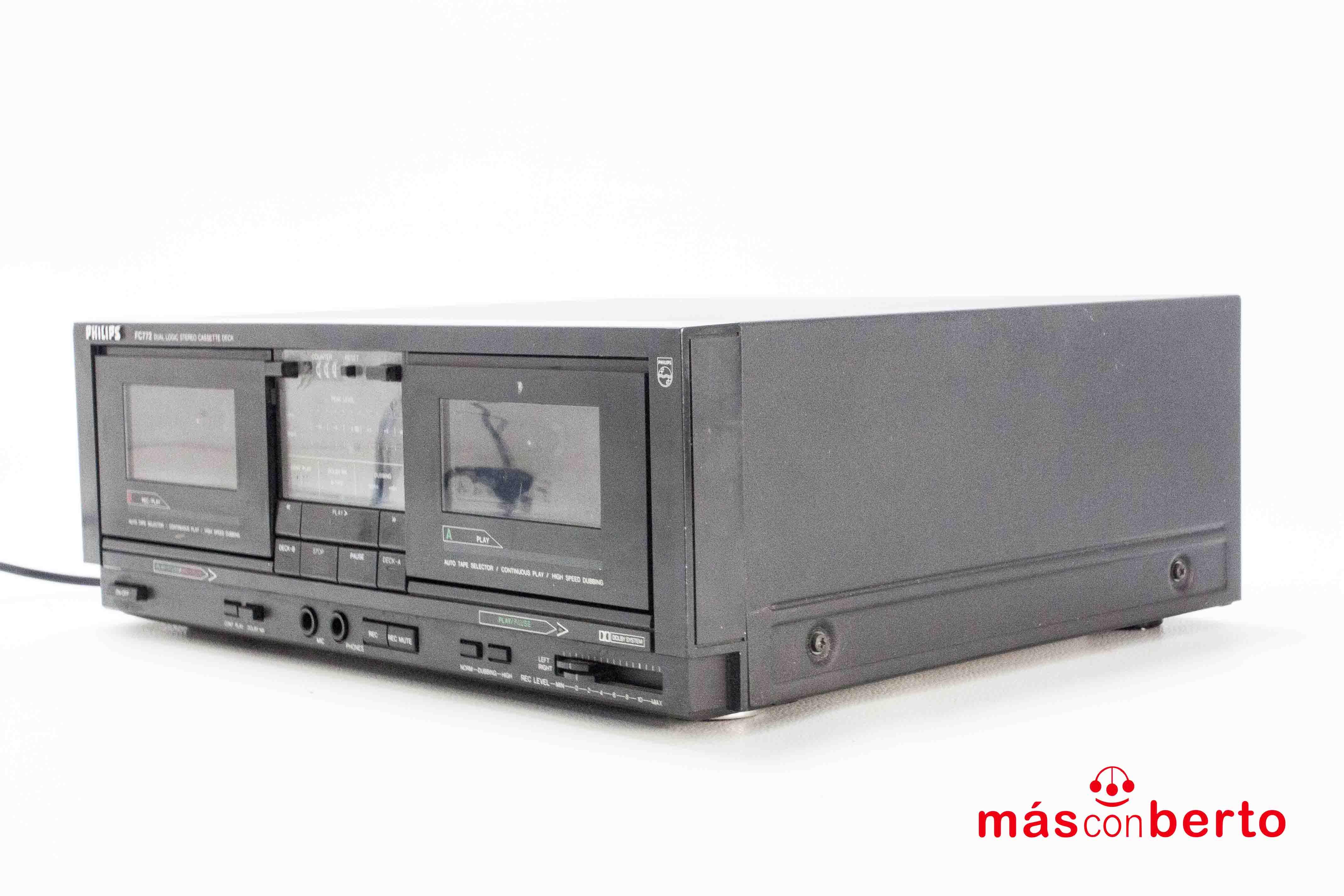 Cassette doble Philips FC772