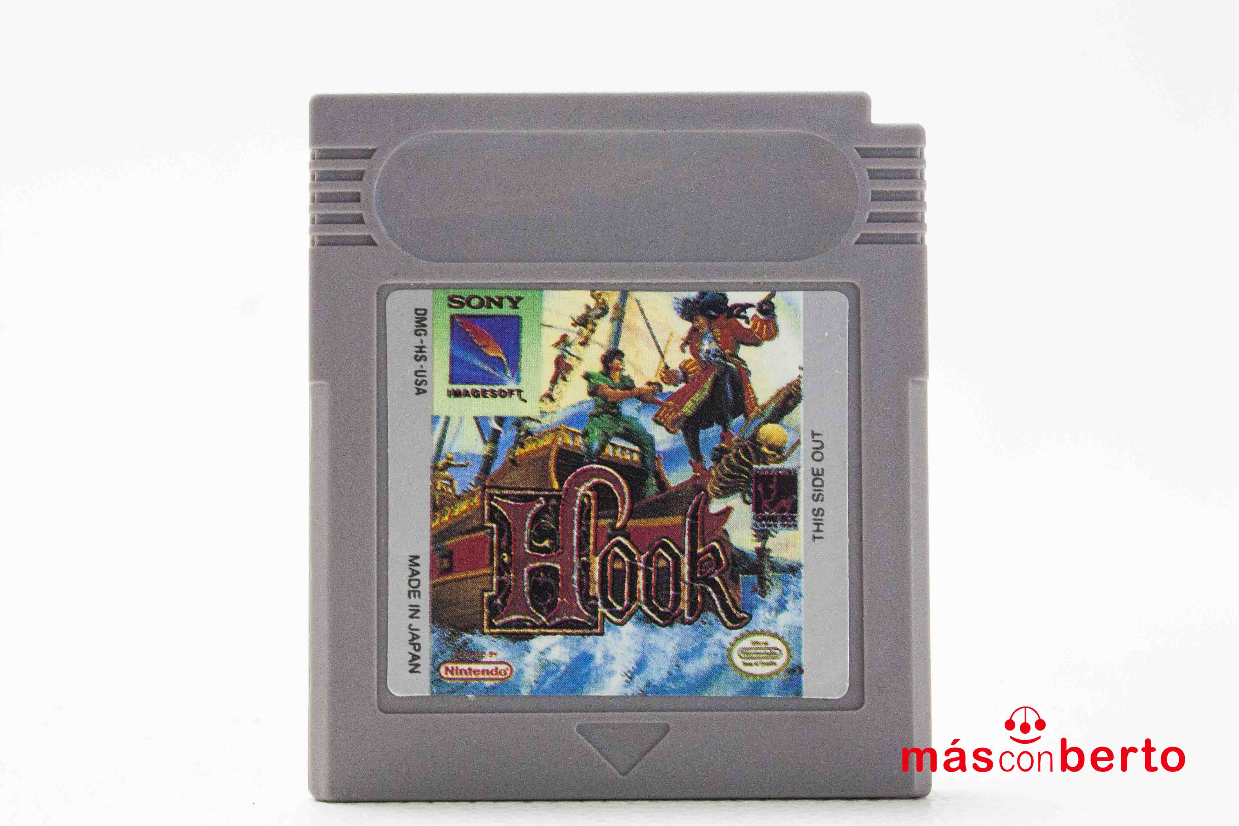 Juego Game Boy Hook