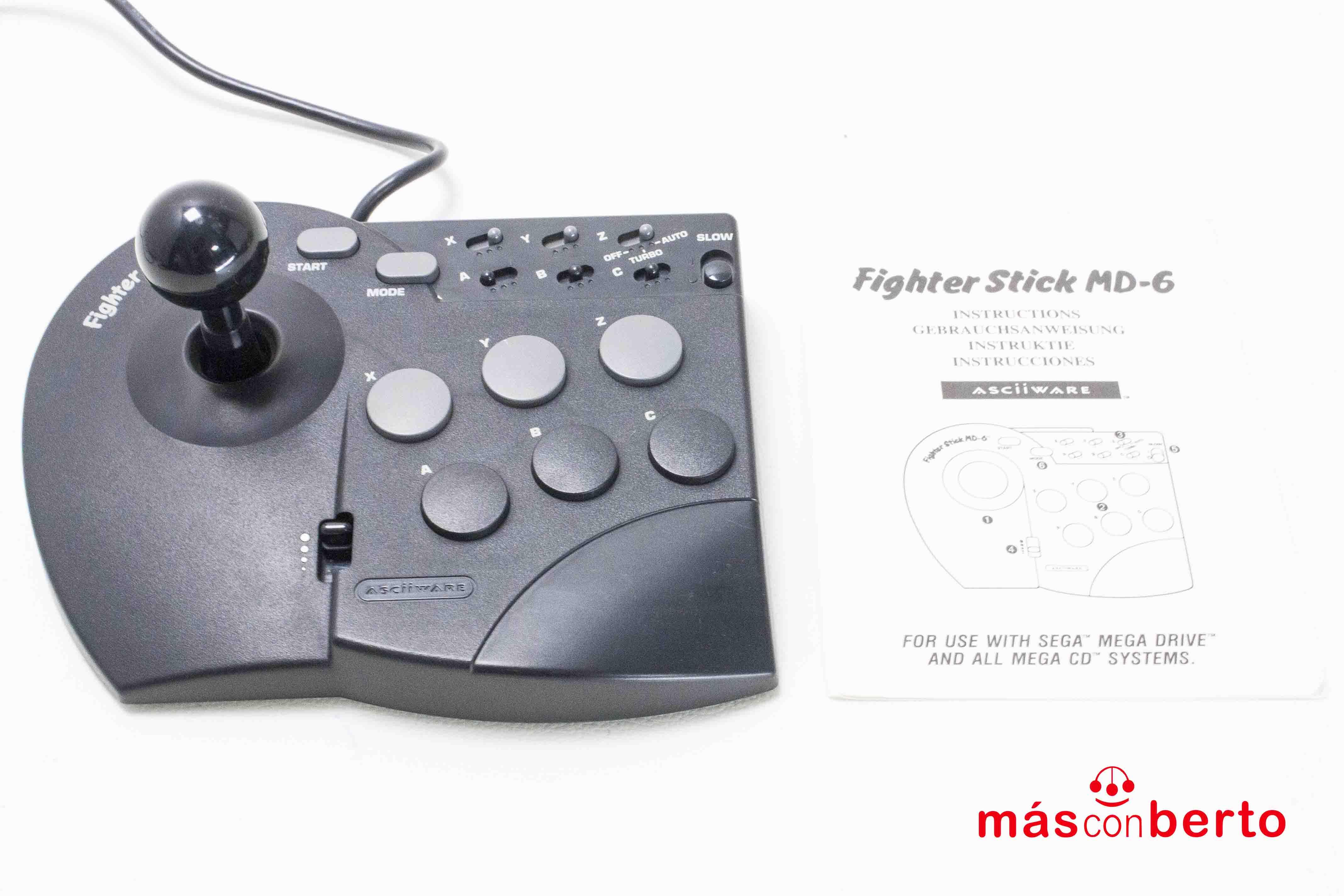Arcade Stick Fighter MD-6...