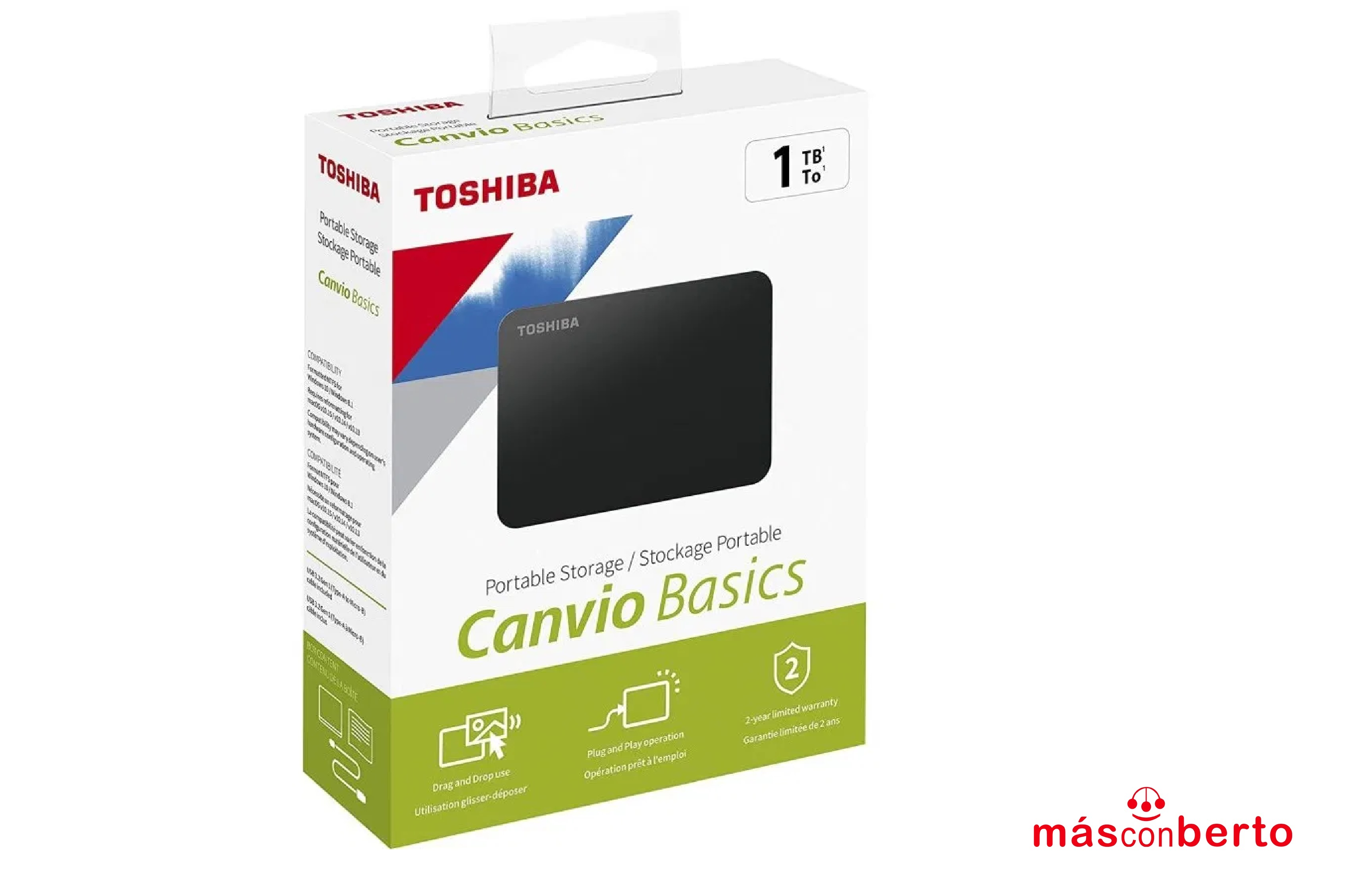 Disco duro Toshiba 1T