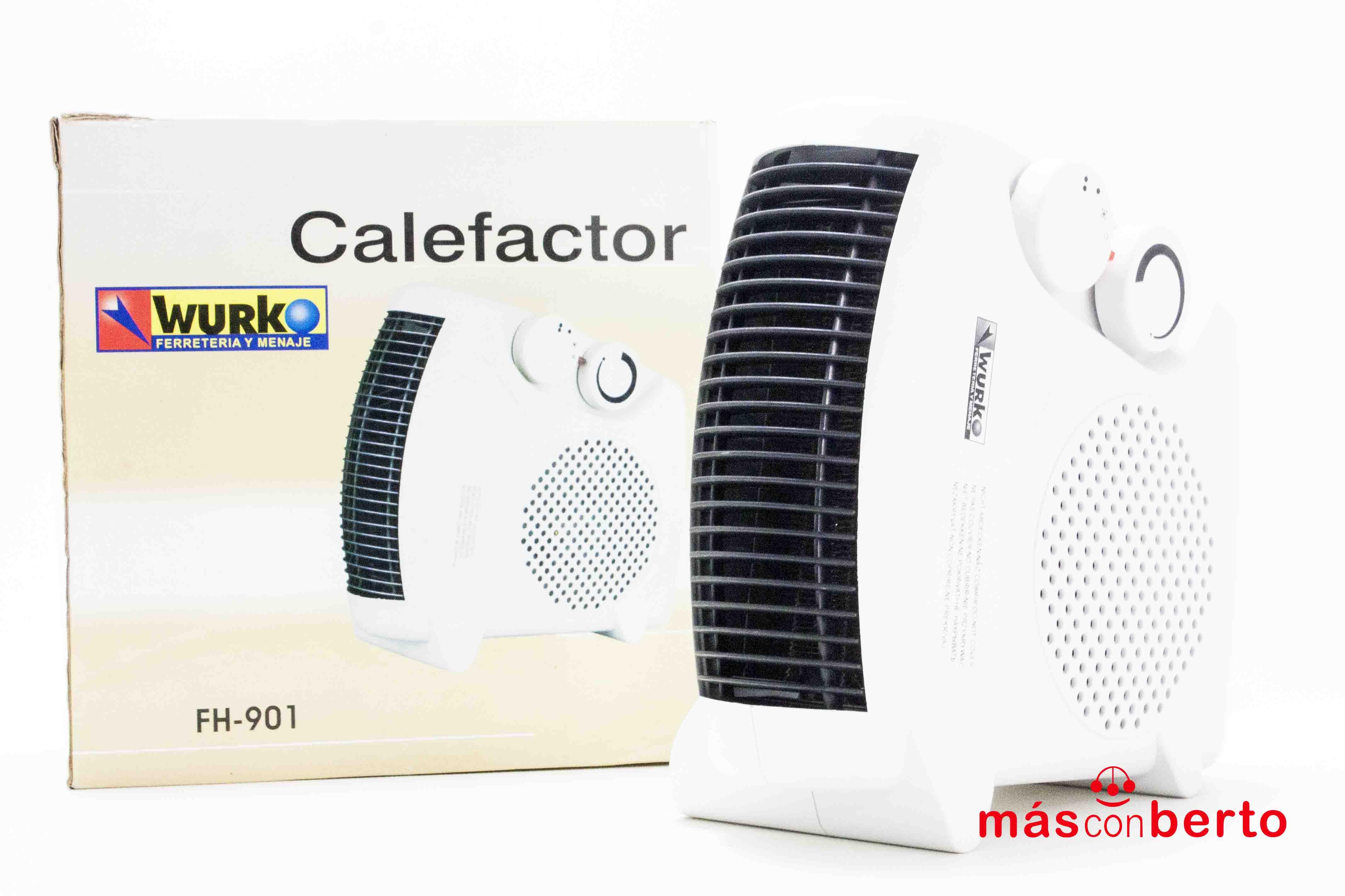 Calefactor Wurko FH-901 2000W