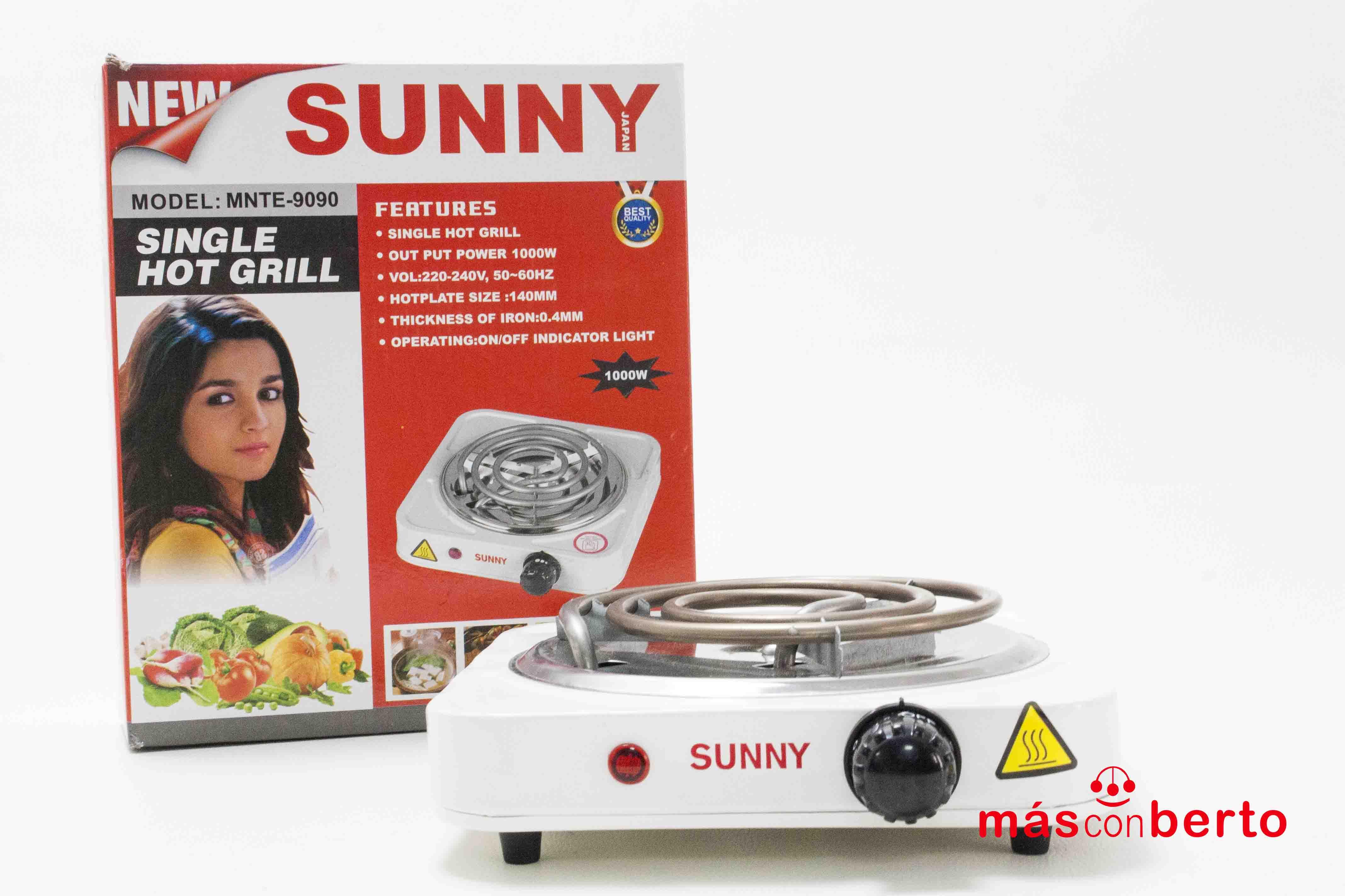 Cocina eléctrica Sunny...