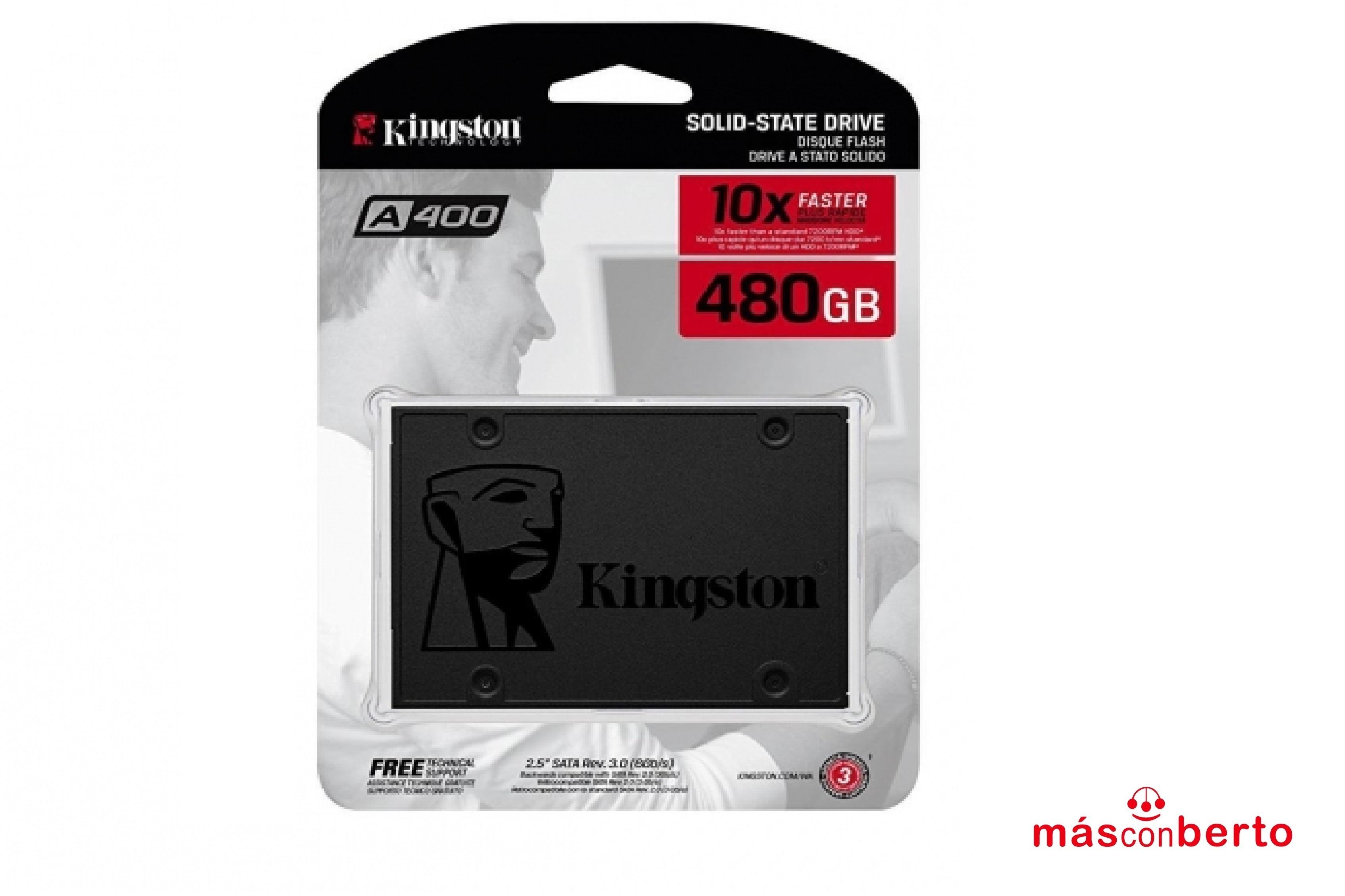 Disco duro SSD 480Gb A400...