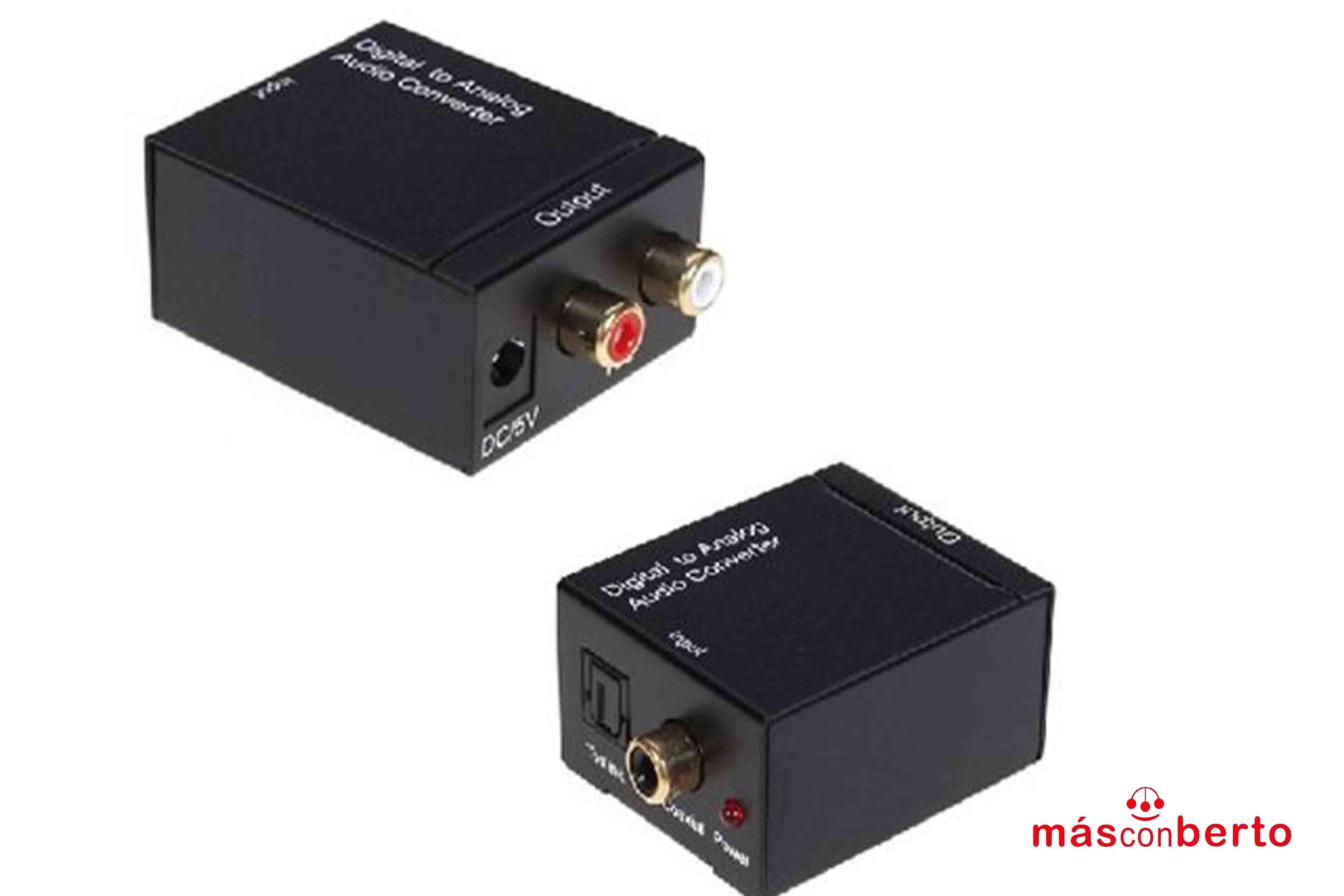 Conversor audio óptico a...