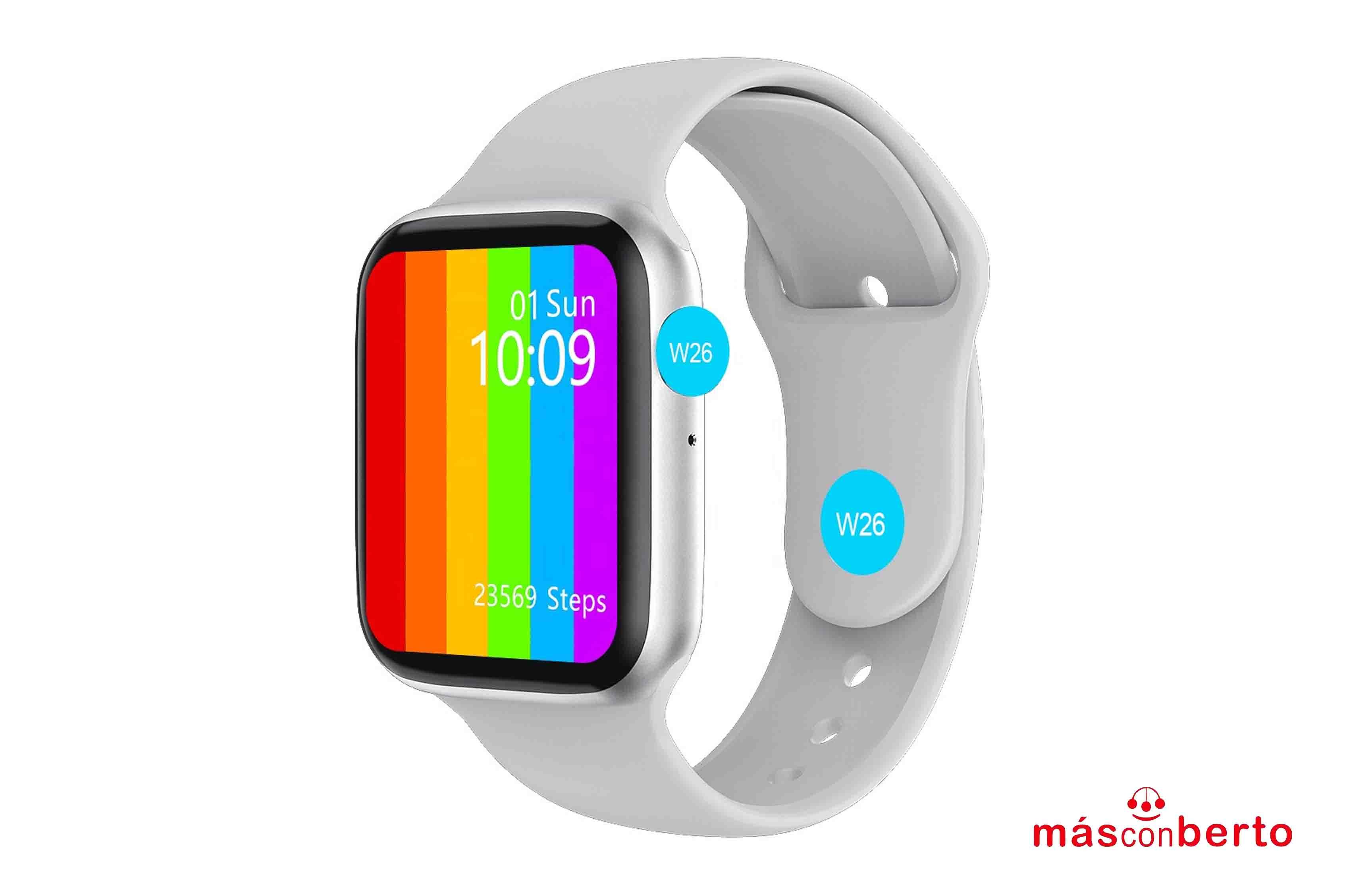 Smartwatch W26 Blanco