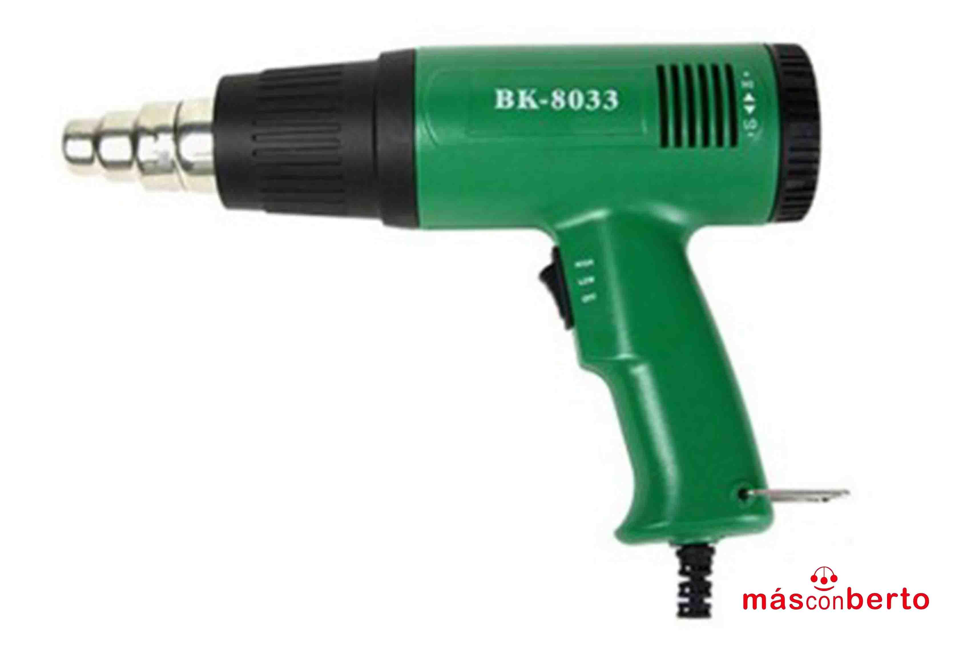 Pistola aire caliente BK8033