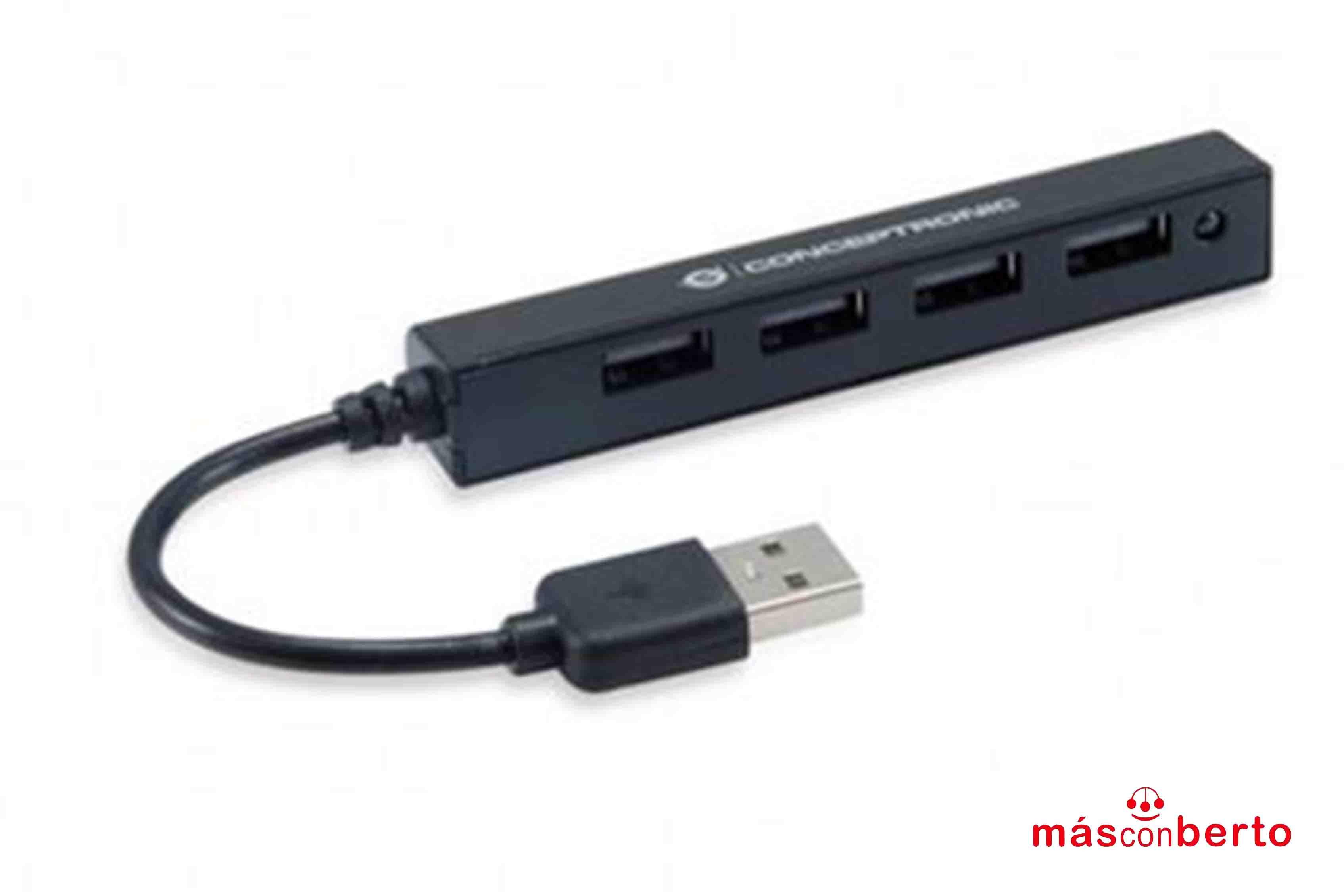 Hub USB 2.0 Conceptronic 4...