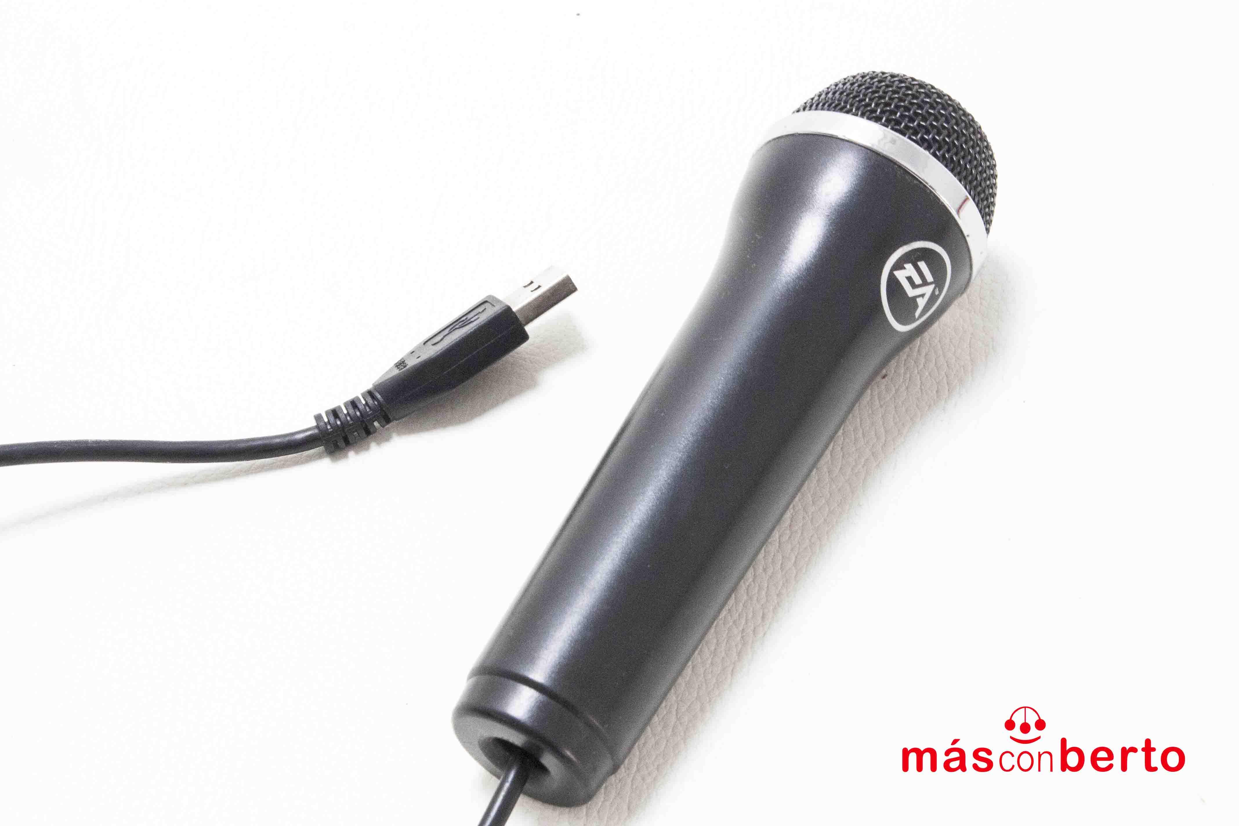 Micrófono Logitech USB