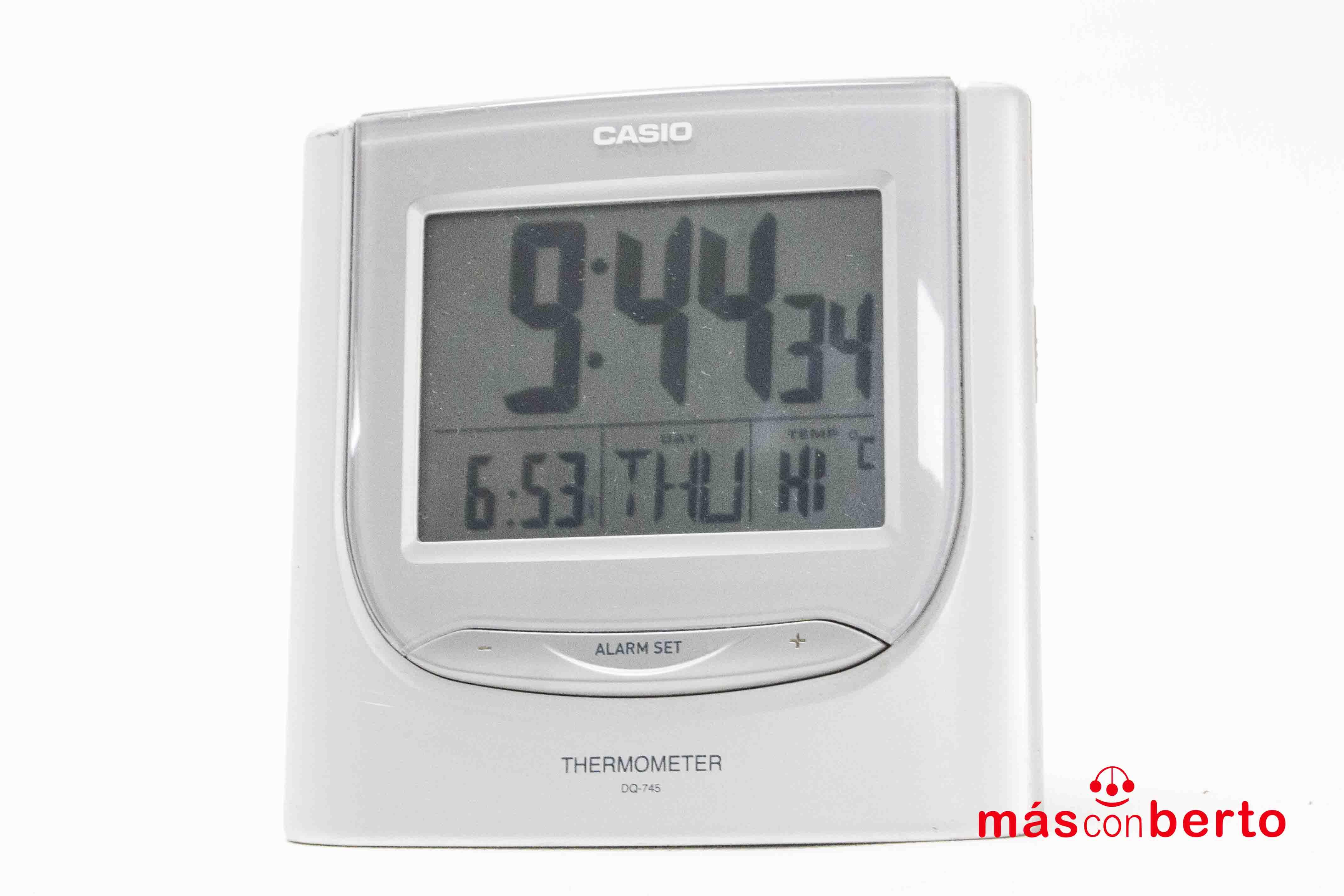 Reloj despertador Casio...