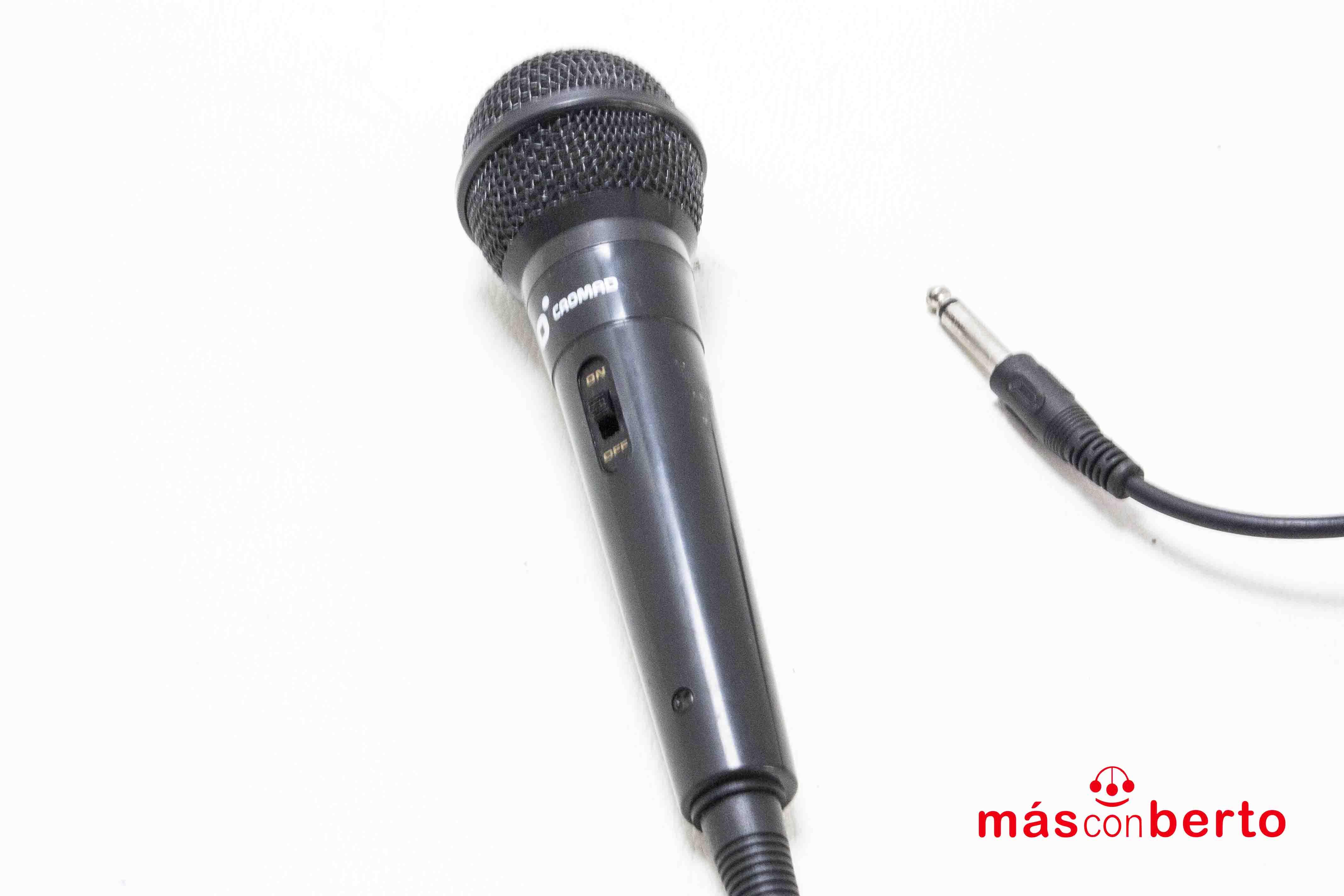 Micrófono Cromad Jack Negro