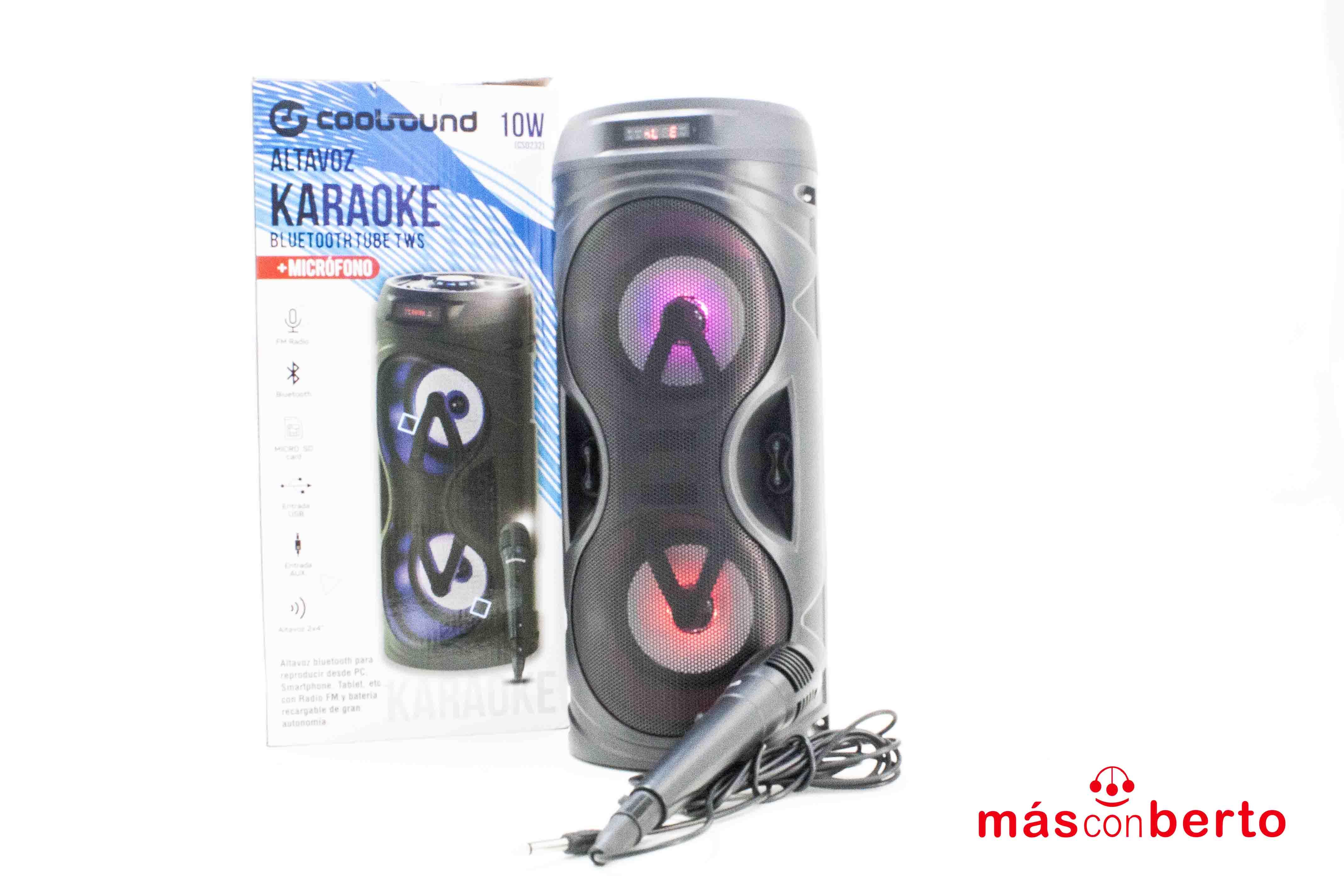 Altavoz Karaoke Coolsound