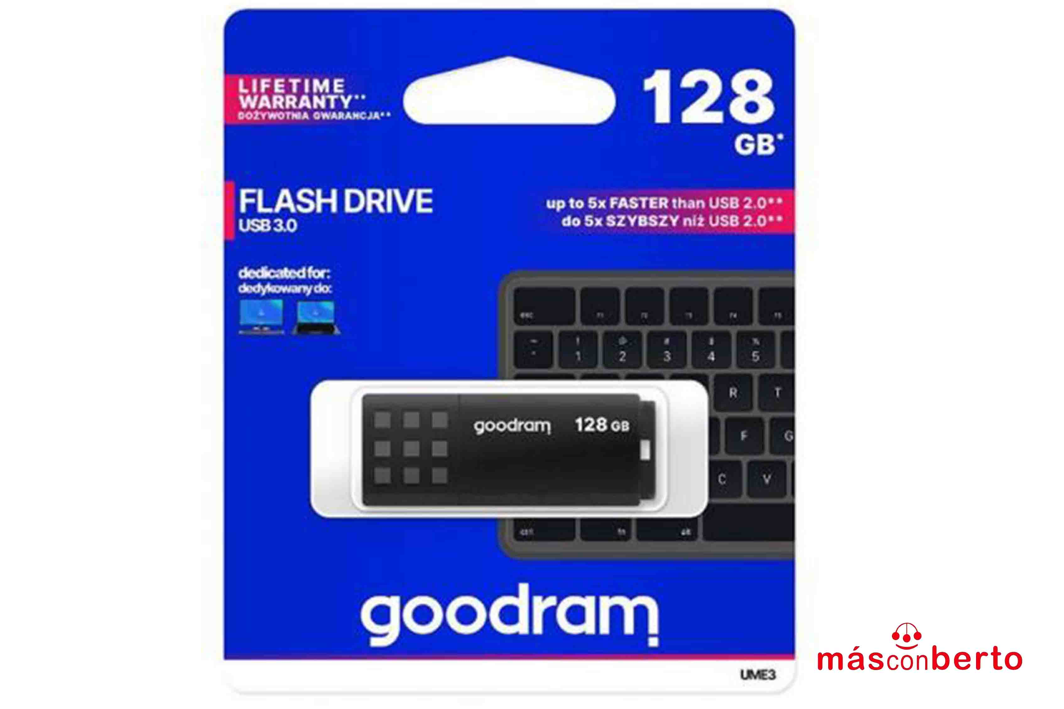 Pendrive Goodram 128GB