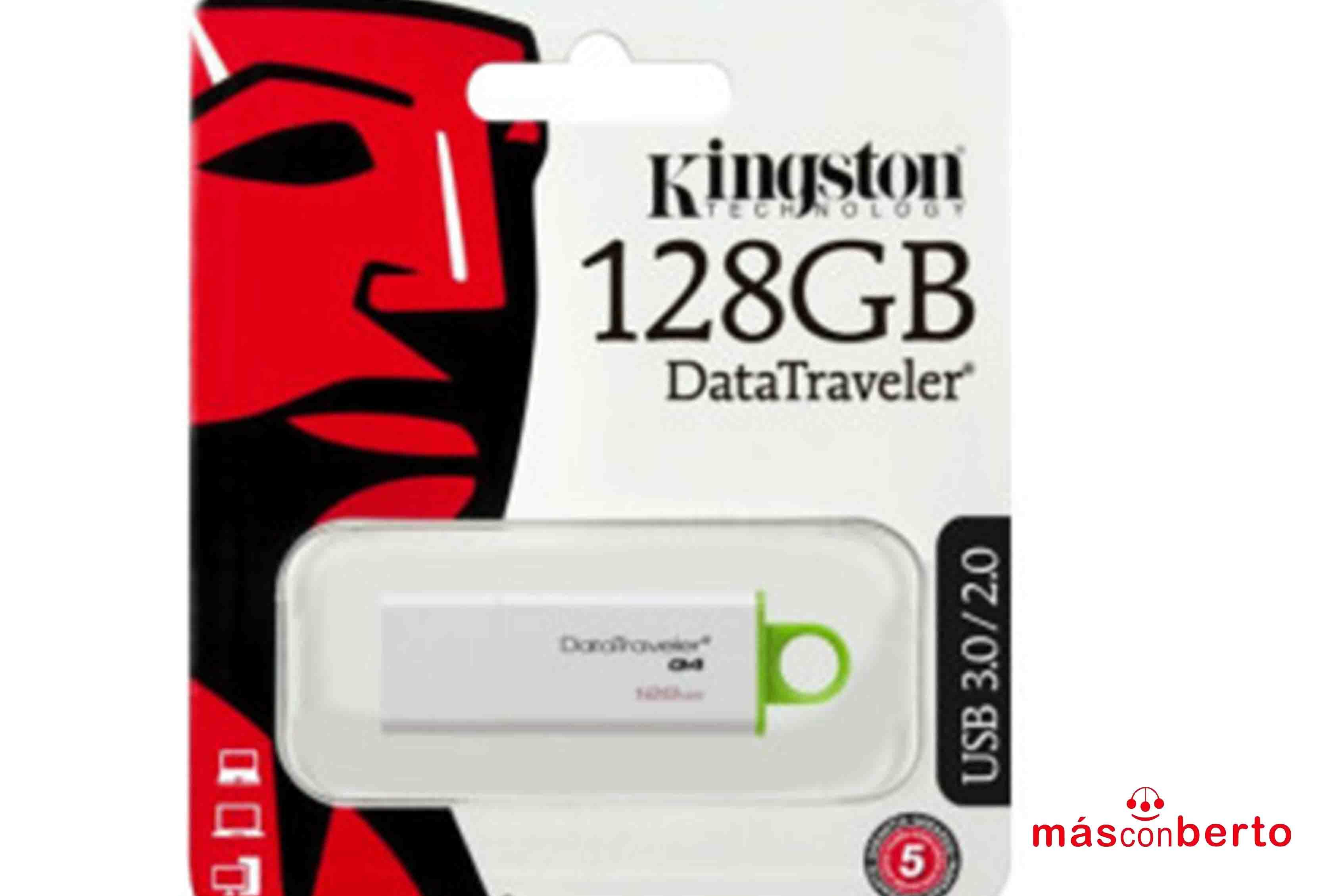 Pendrive Kingston 128GB...
