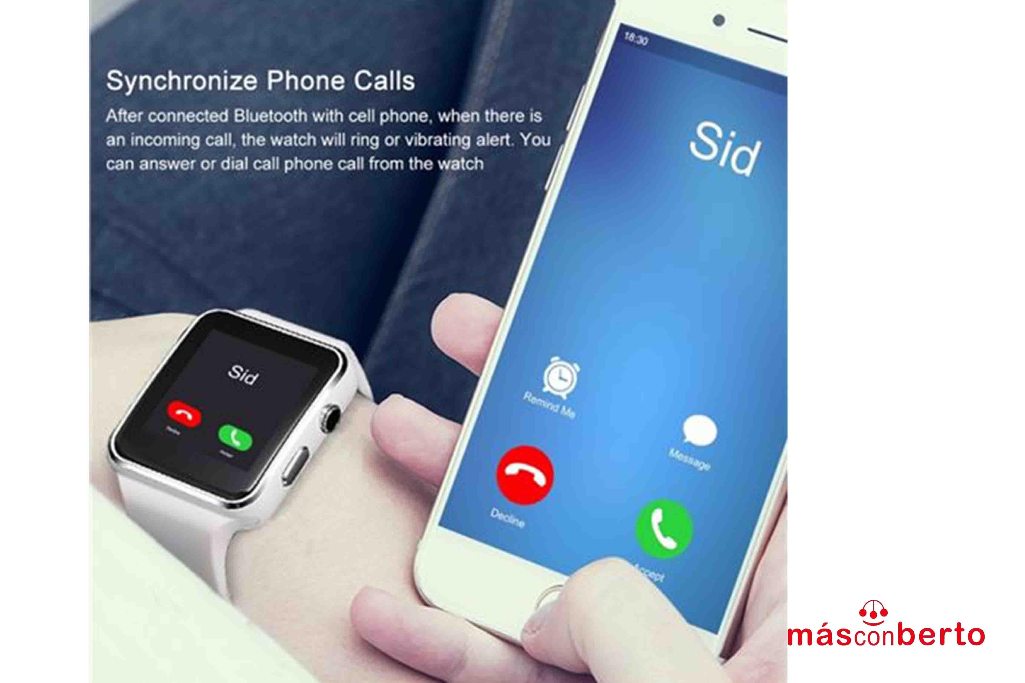 Smartwatch SW1100 plata...