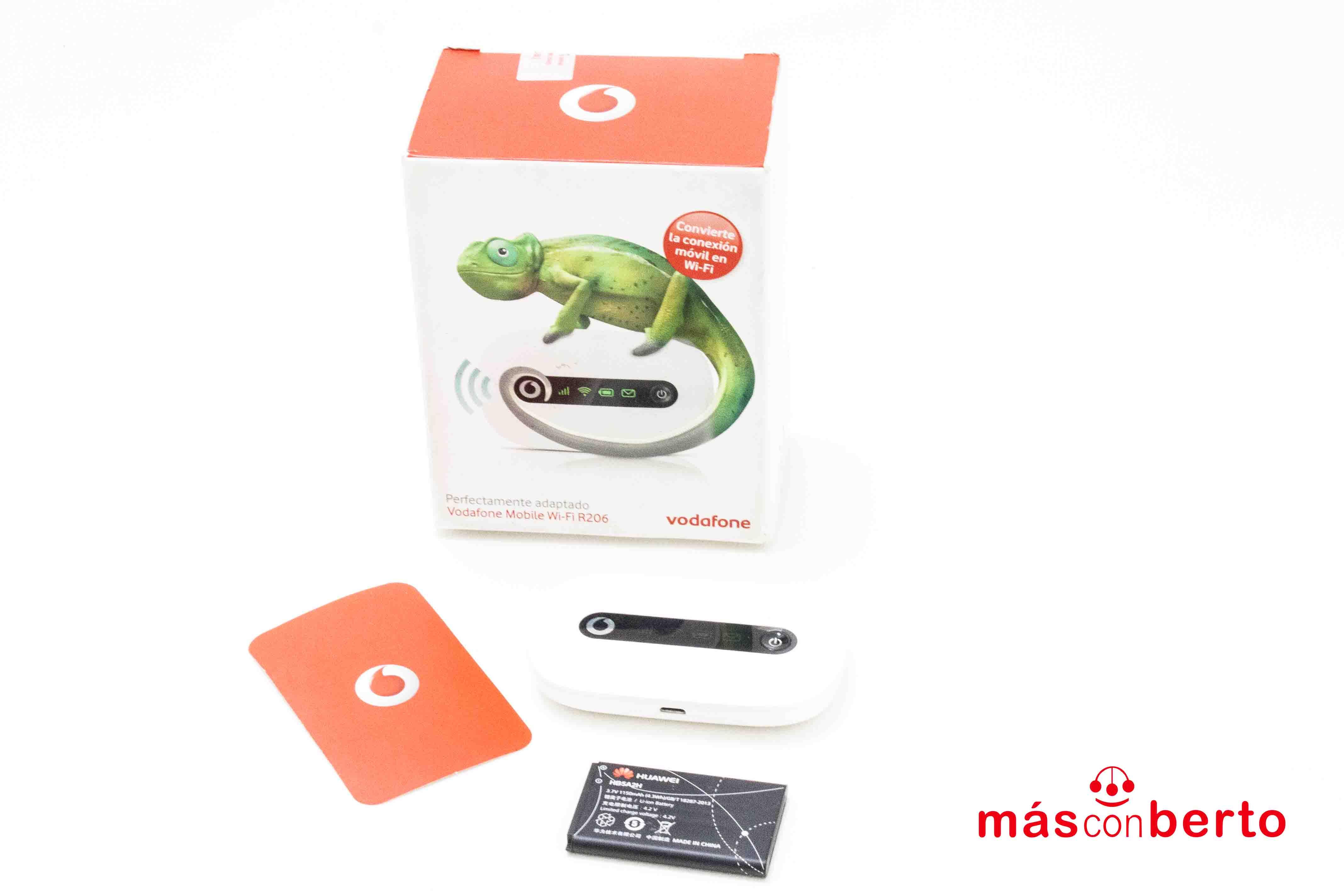 Router wifi R206 de vodafone
