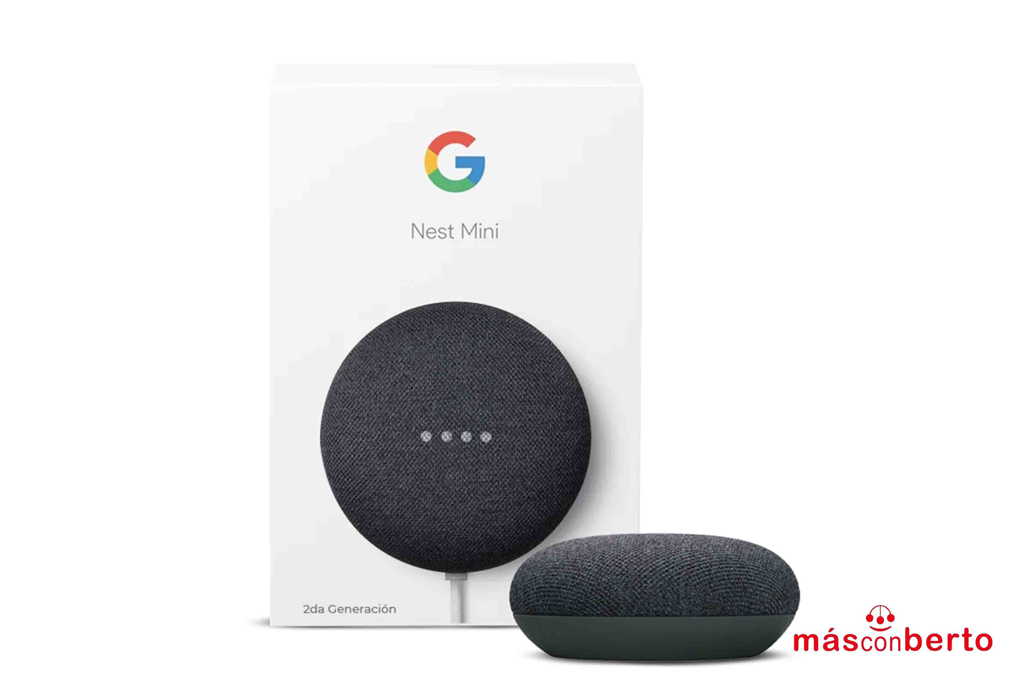 Altavoz inteligente Google...