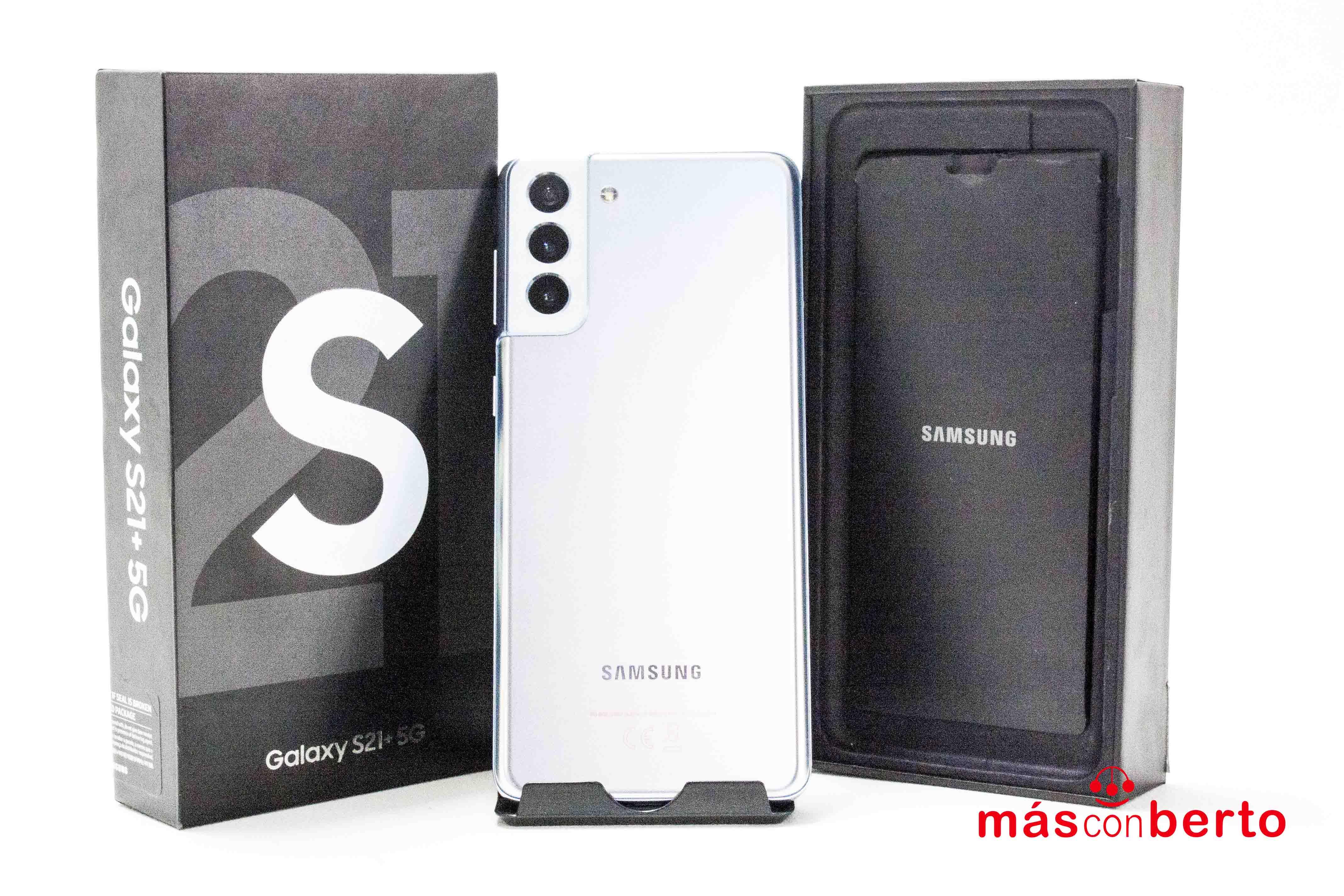 Móvil Samsung S21+ 5G 128Gb...