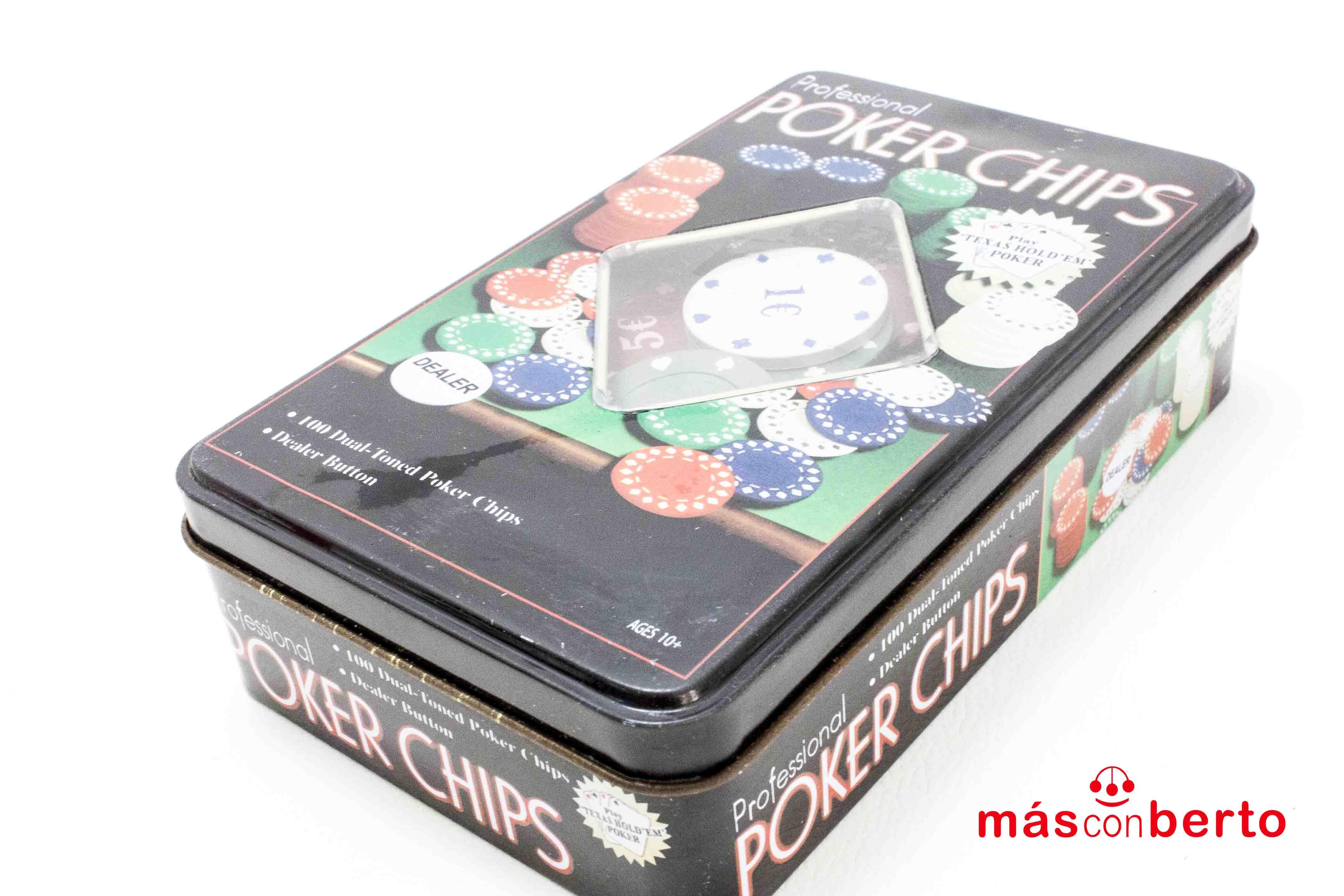 Juego de Poker 100 fichas...