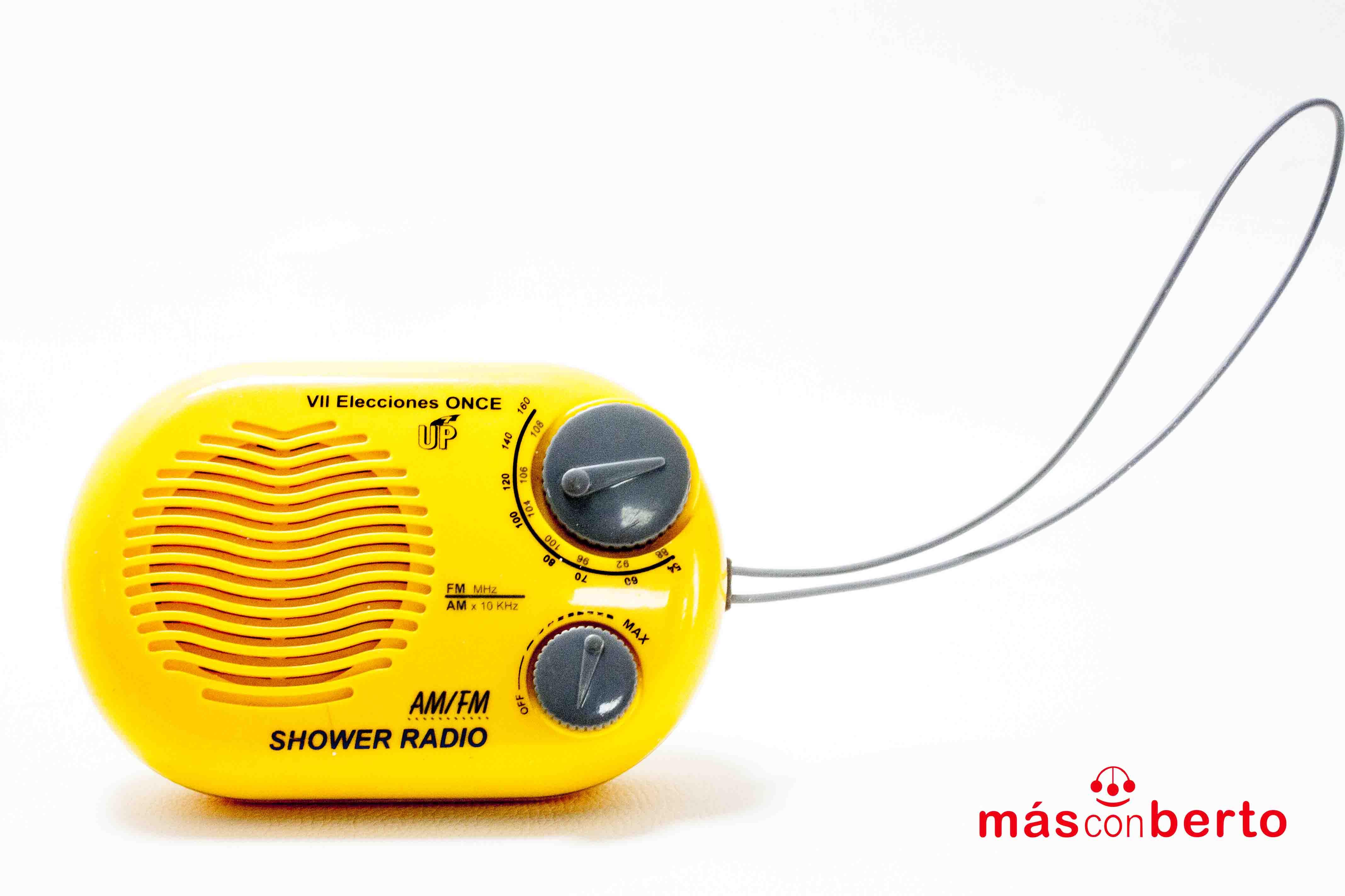 Radio de color amarilla VII...