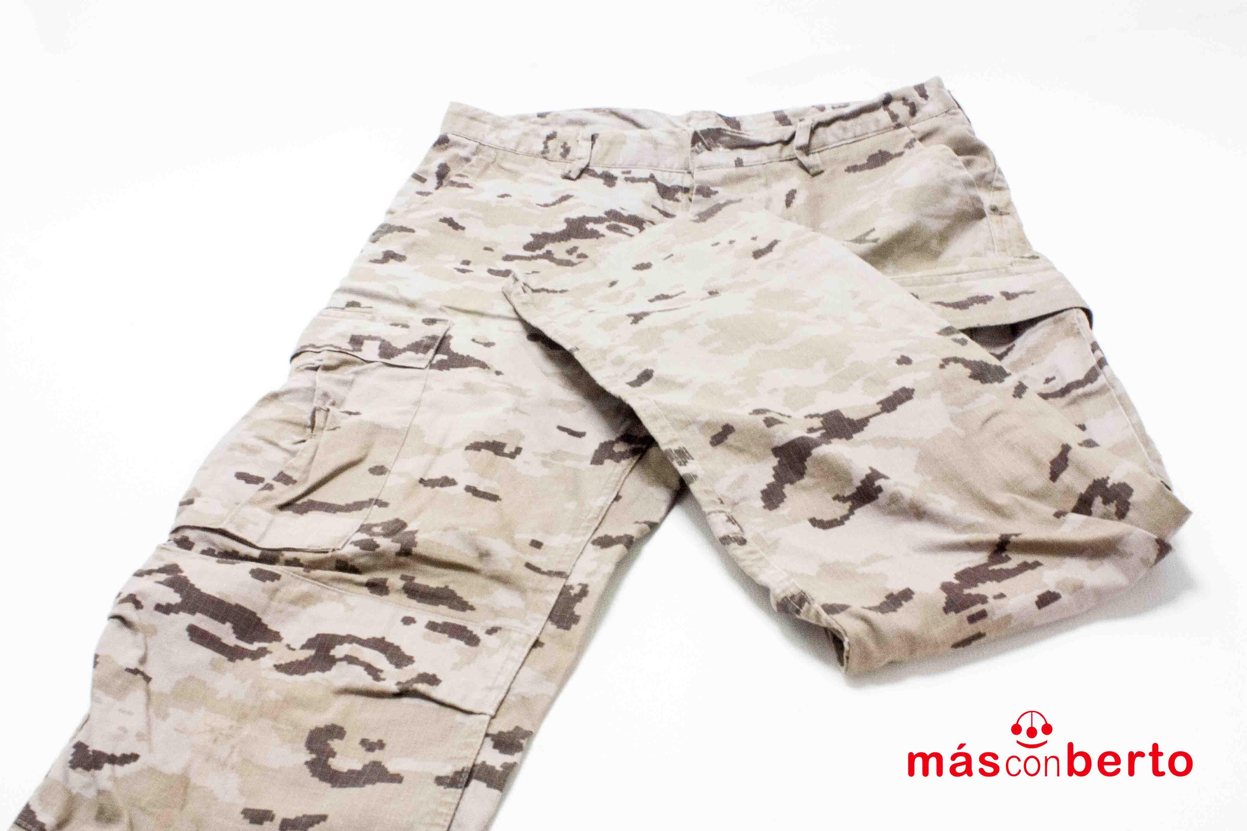 Pantalón militar árido...