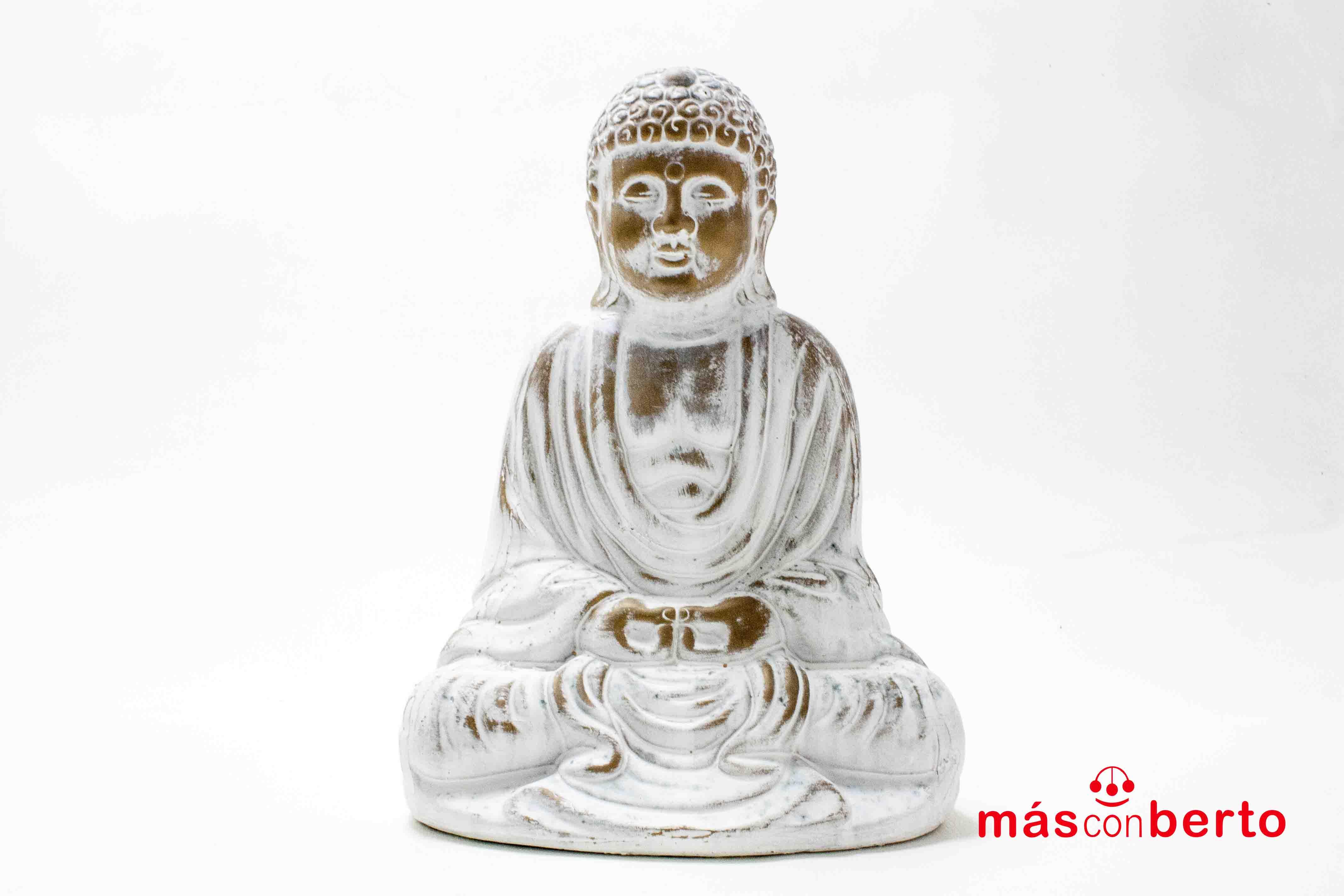 Figura de Buda blanco...