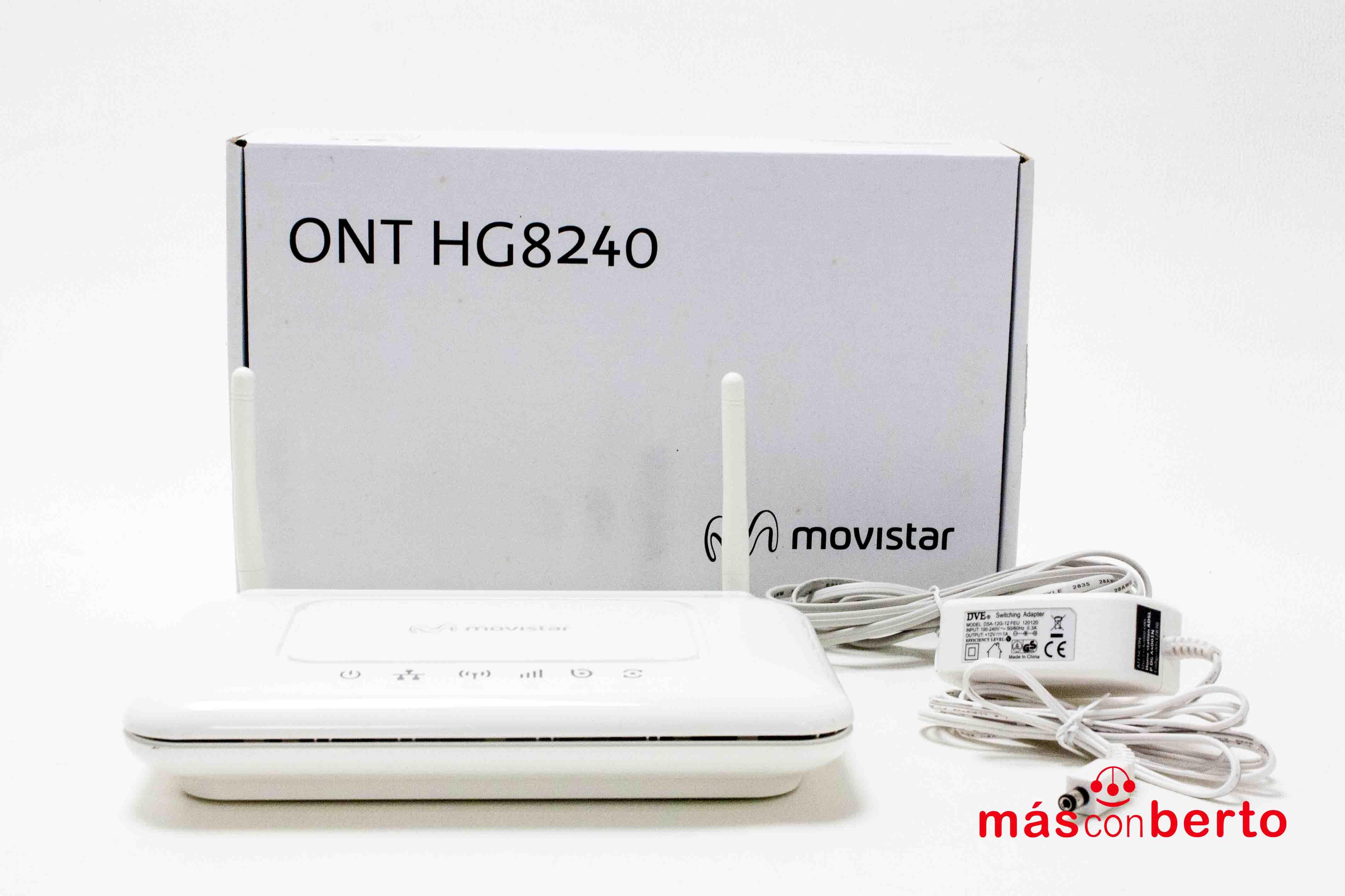 Router Movistar modelo Home...