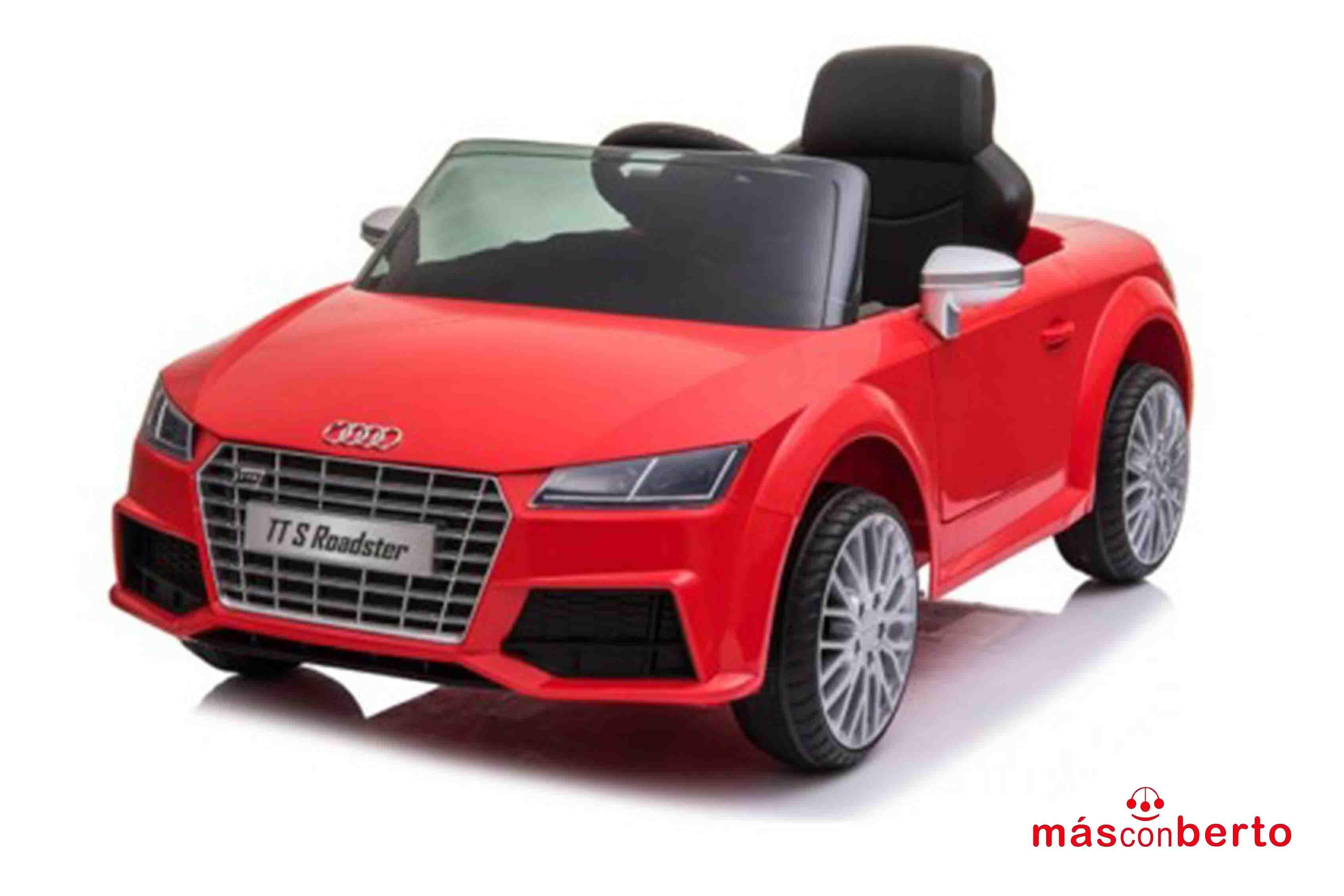 Coche batería Audi TT Rojo...