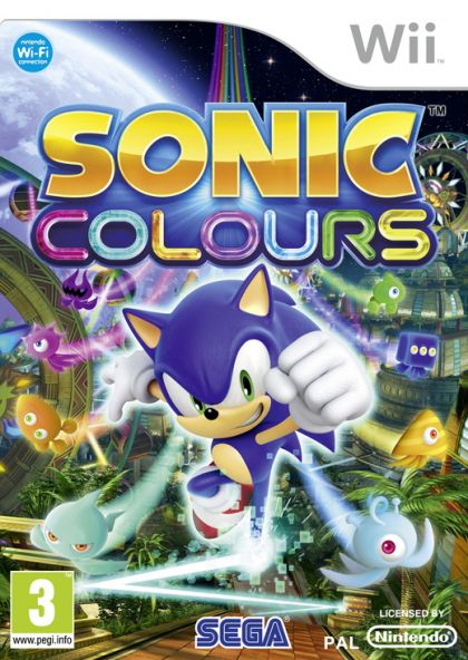 Juego Wii Sonic Colours