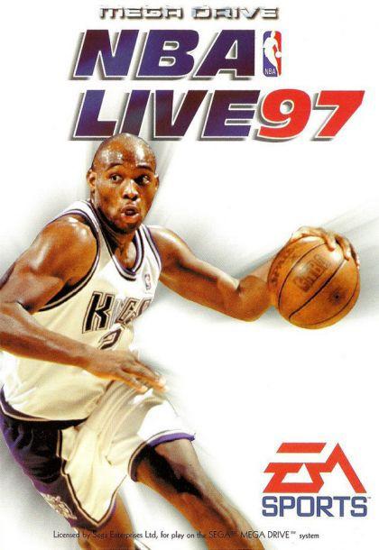 Juego Mega Drive NBA Live 97
