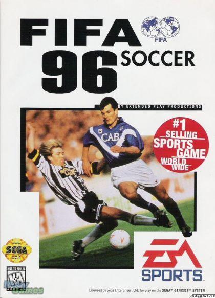 Juego MegaDrive Fifa Soccer 96
