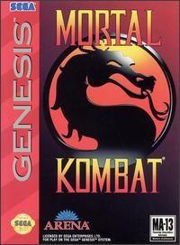 Juego Mega Drive Mortal Kombat