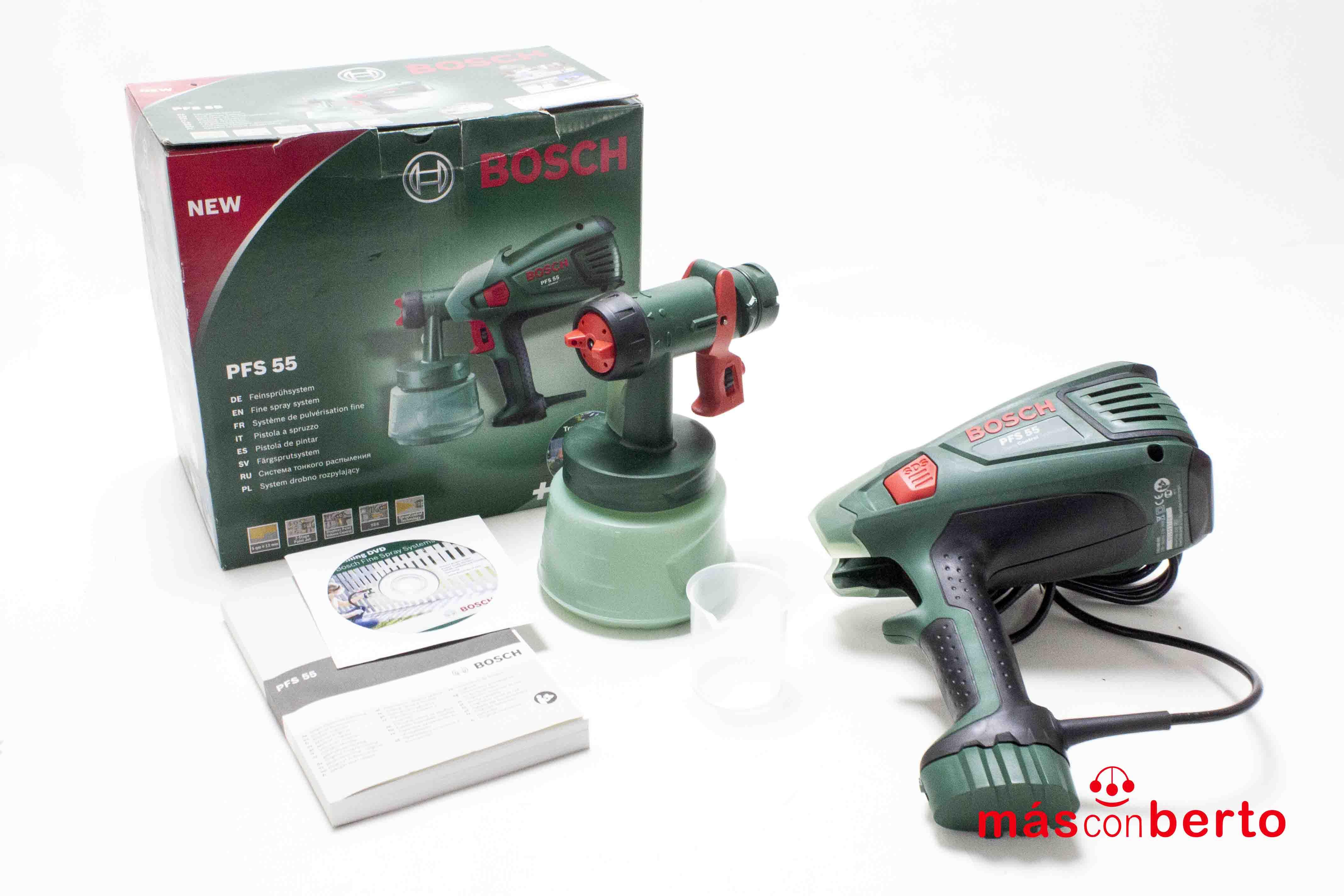Pistola para pintar Bosch...