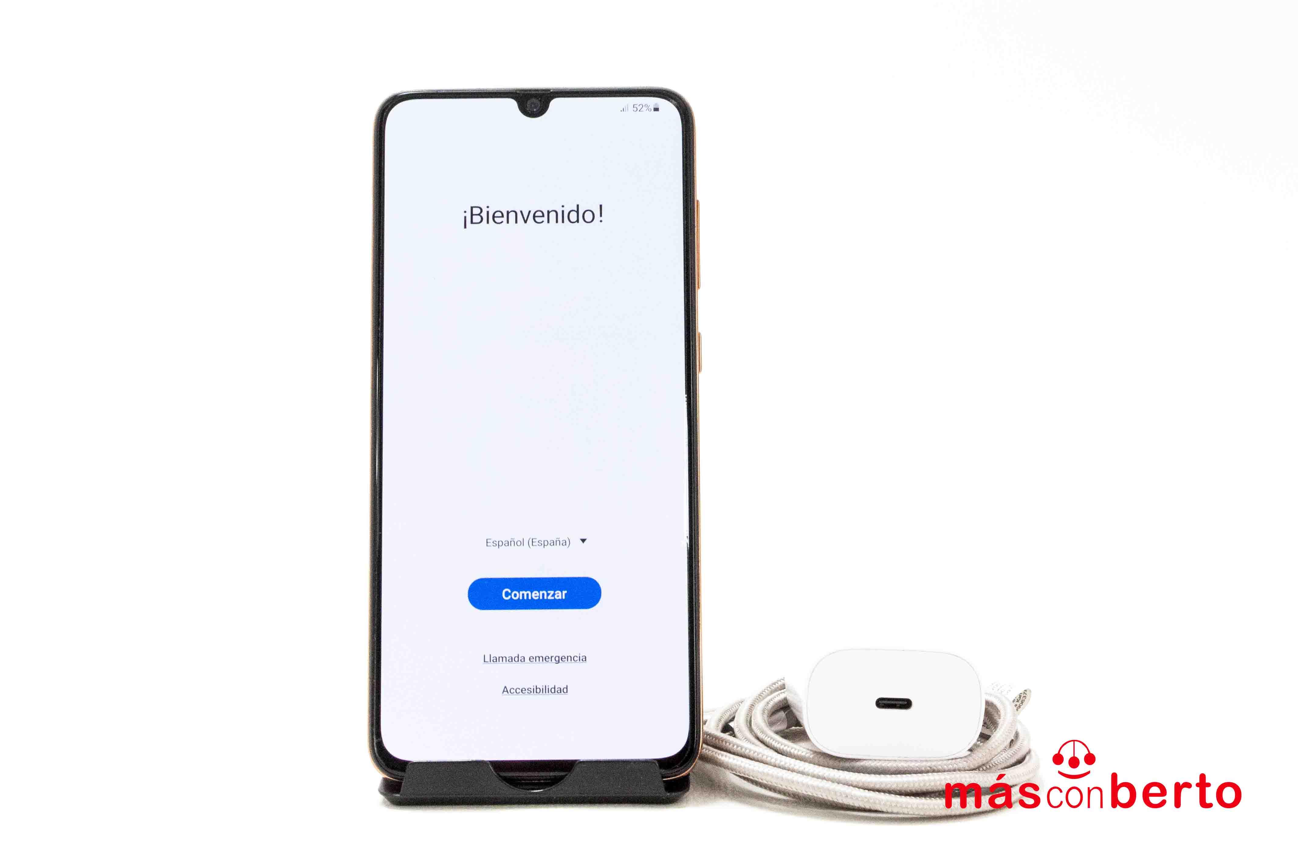 Móvil Samsung A70 128GB Coral