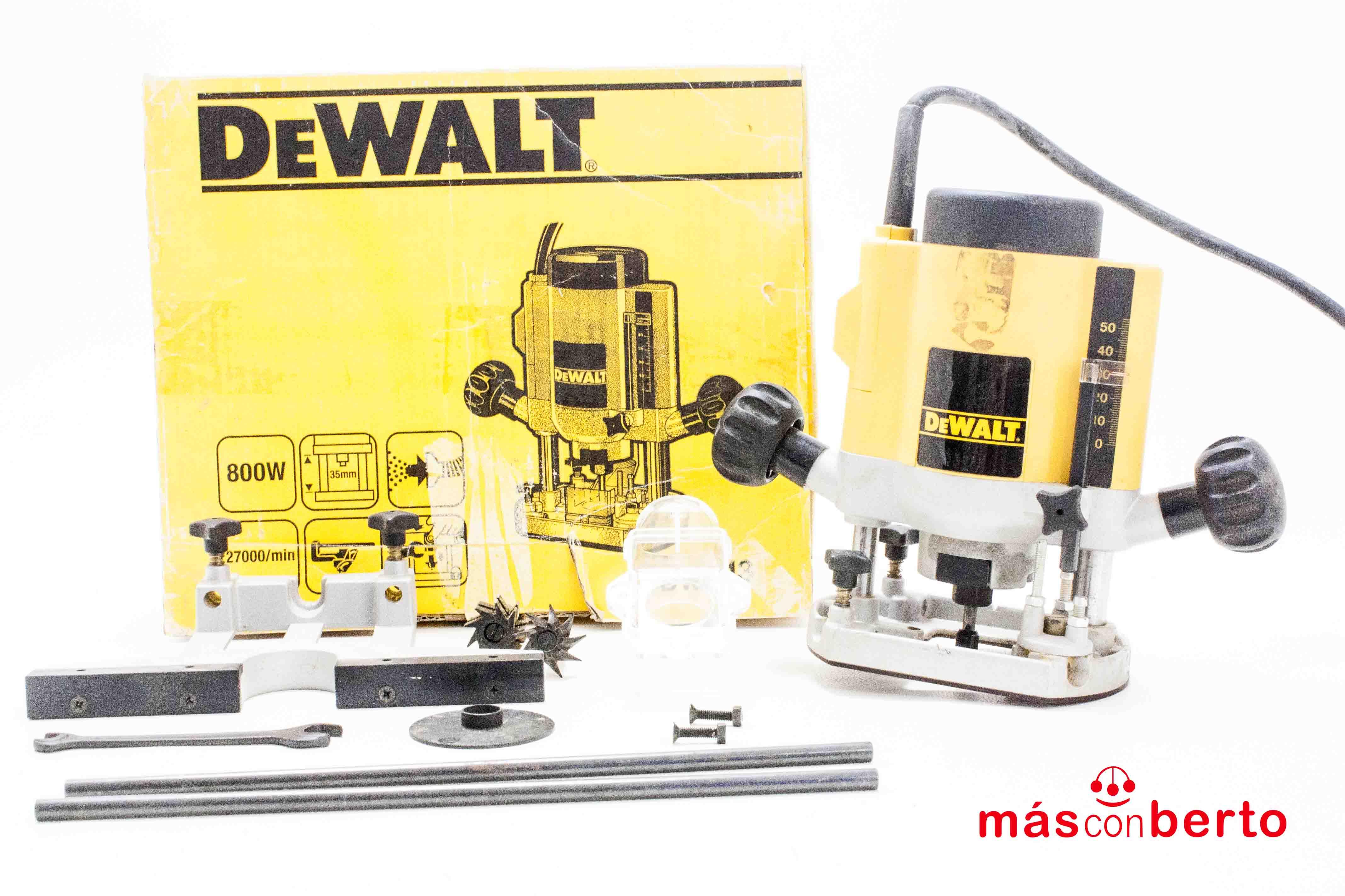 Fresadora DeWALT DW613 800W