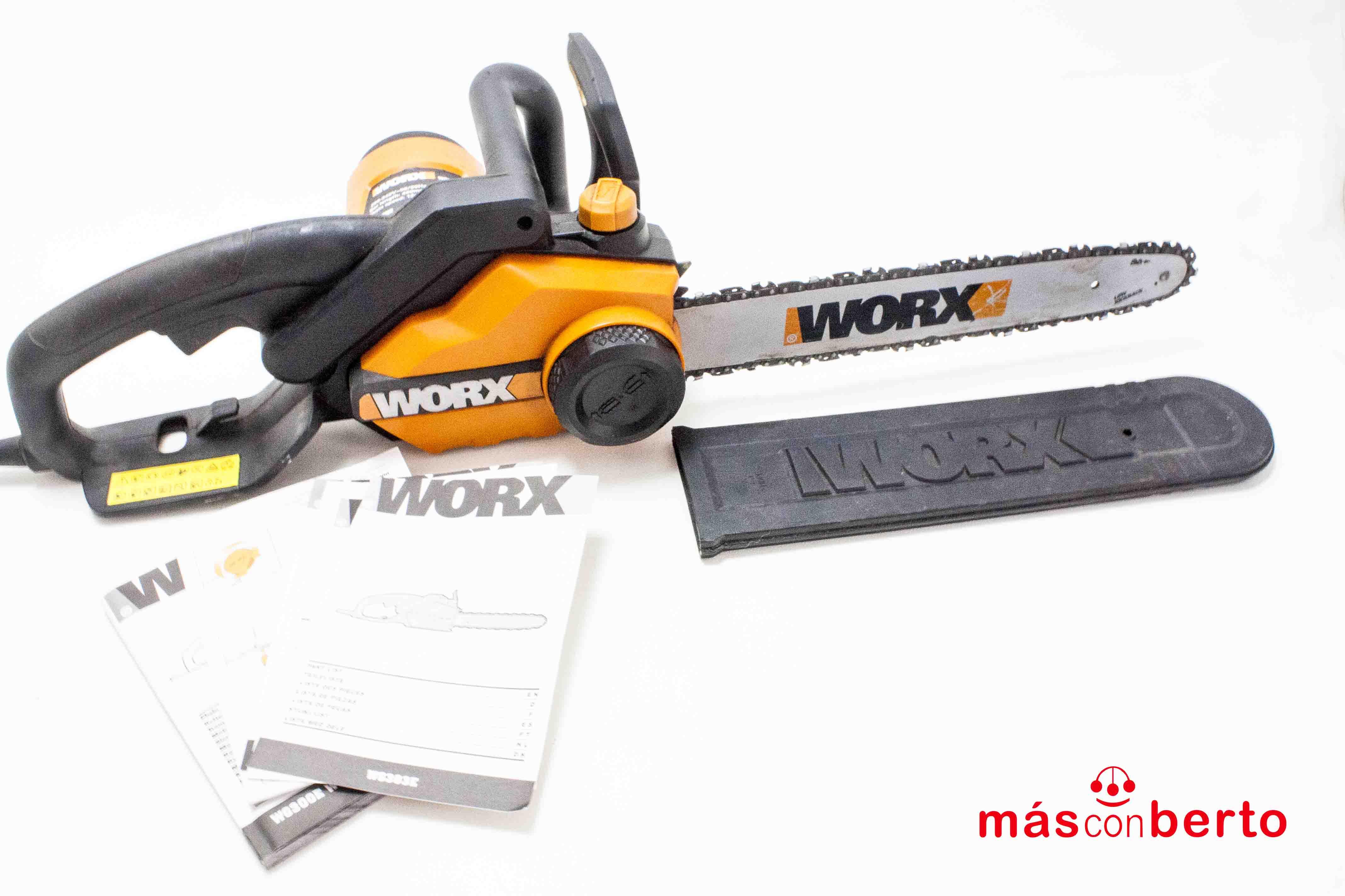 Motosierra Worx modelo WG3030E