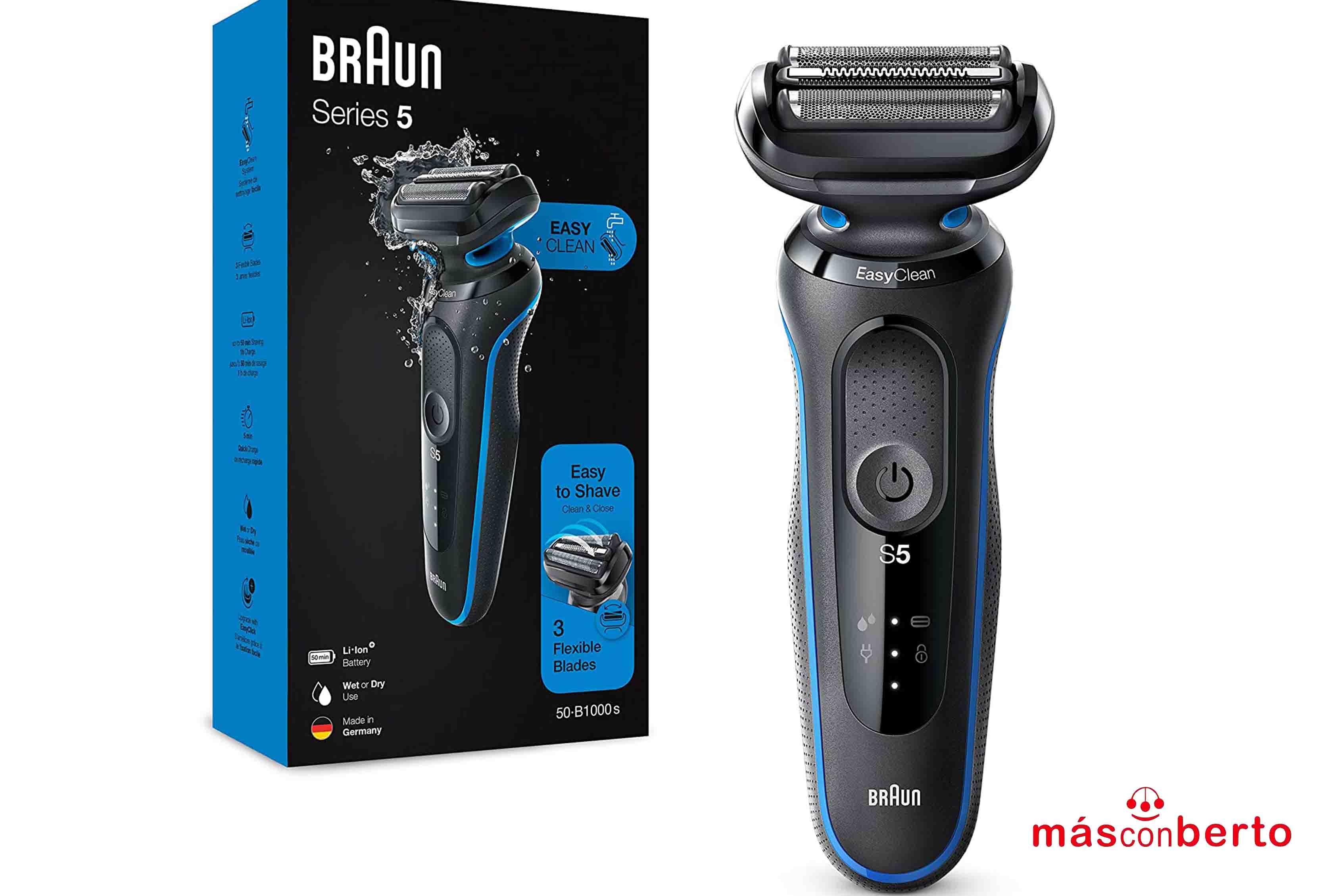 Afeitadora Braun series 5...