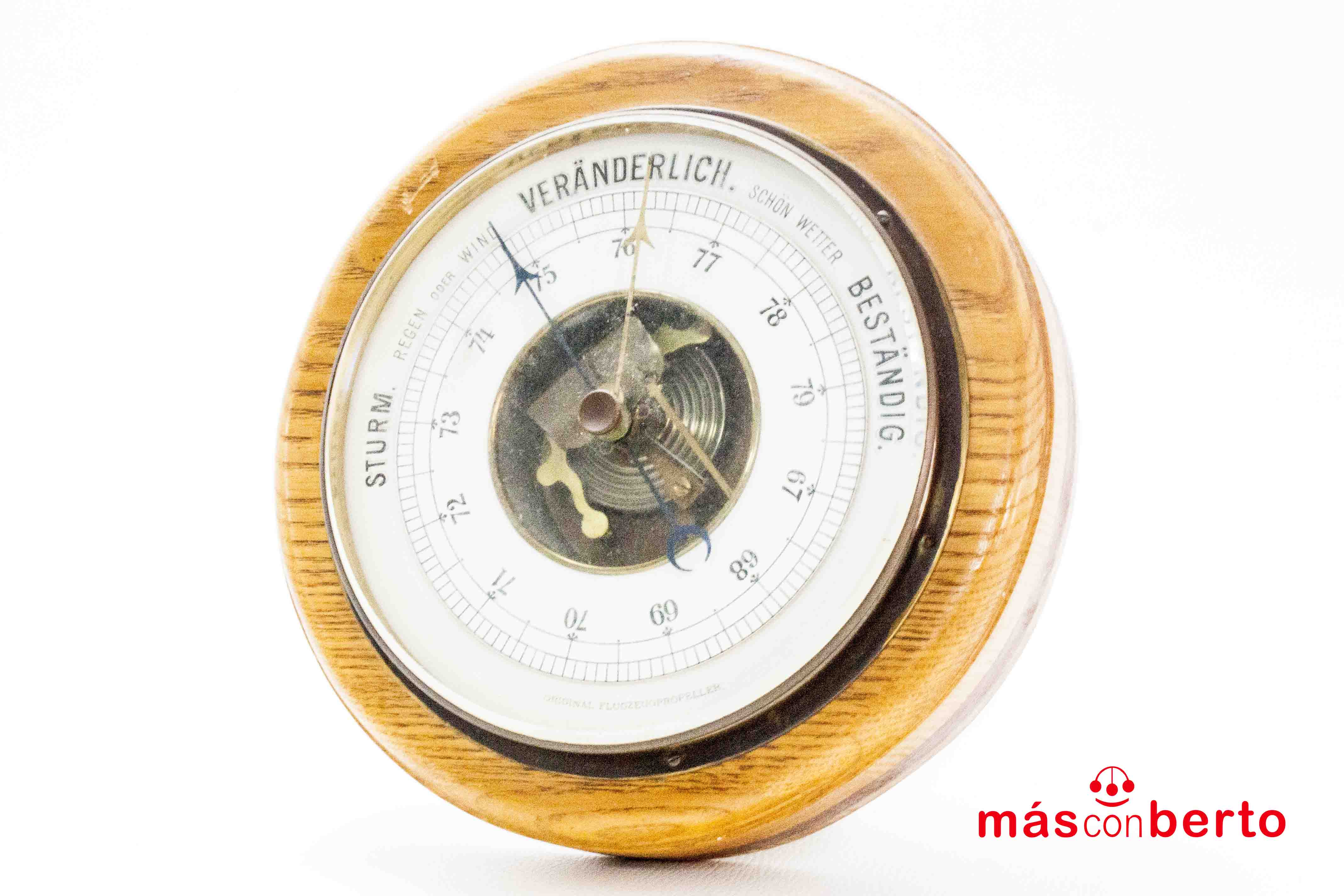 Barómetro Veranderlich Be...