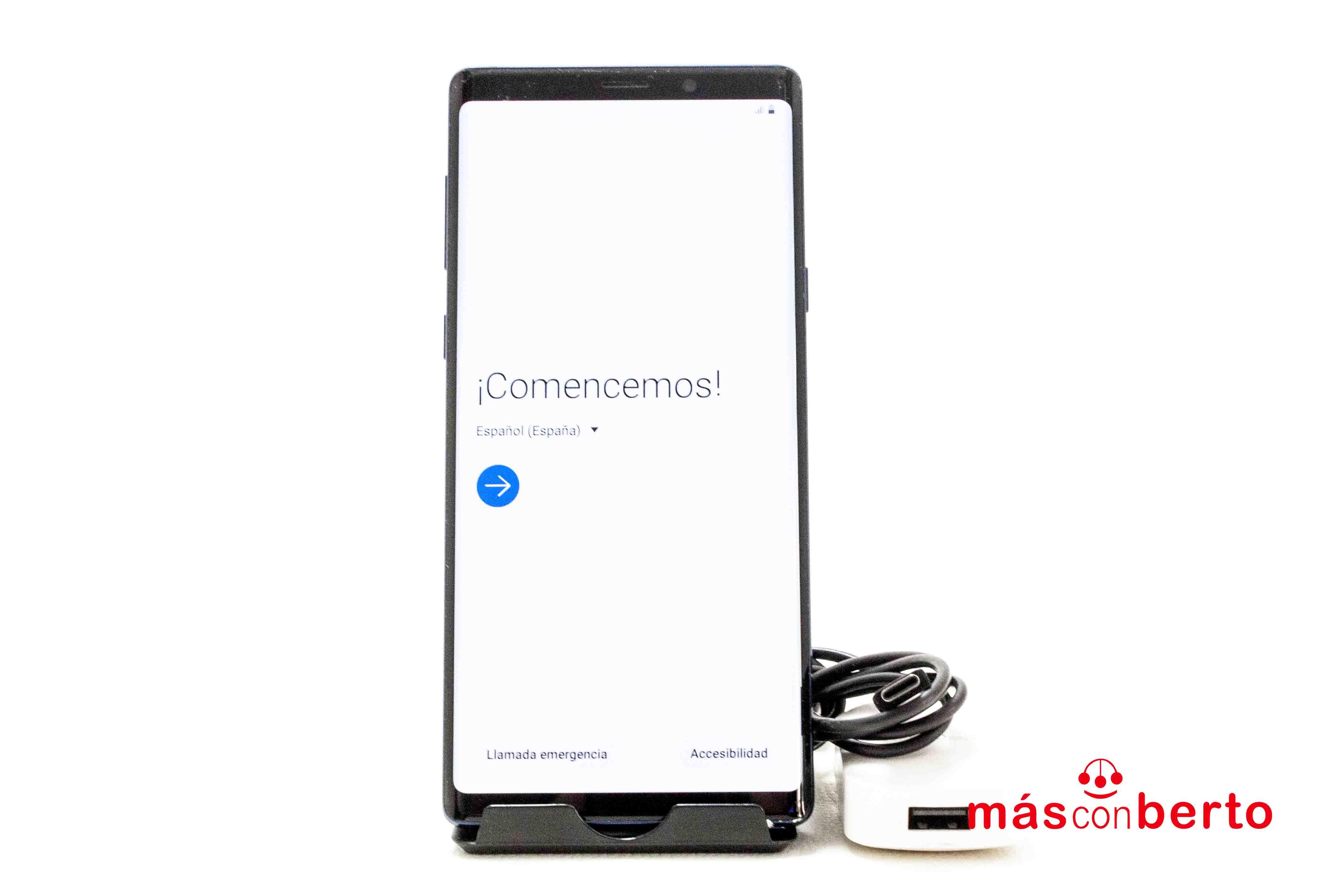 Móvil Samsung Note 9 512GB...