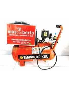 Compresor Black n Decker 24L