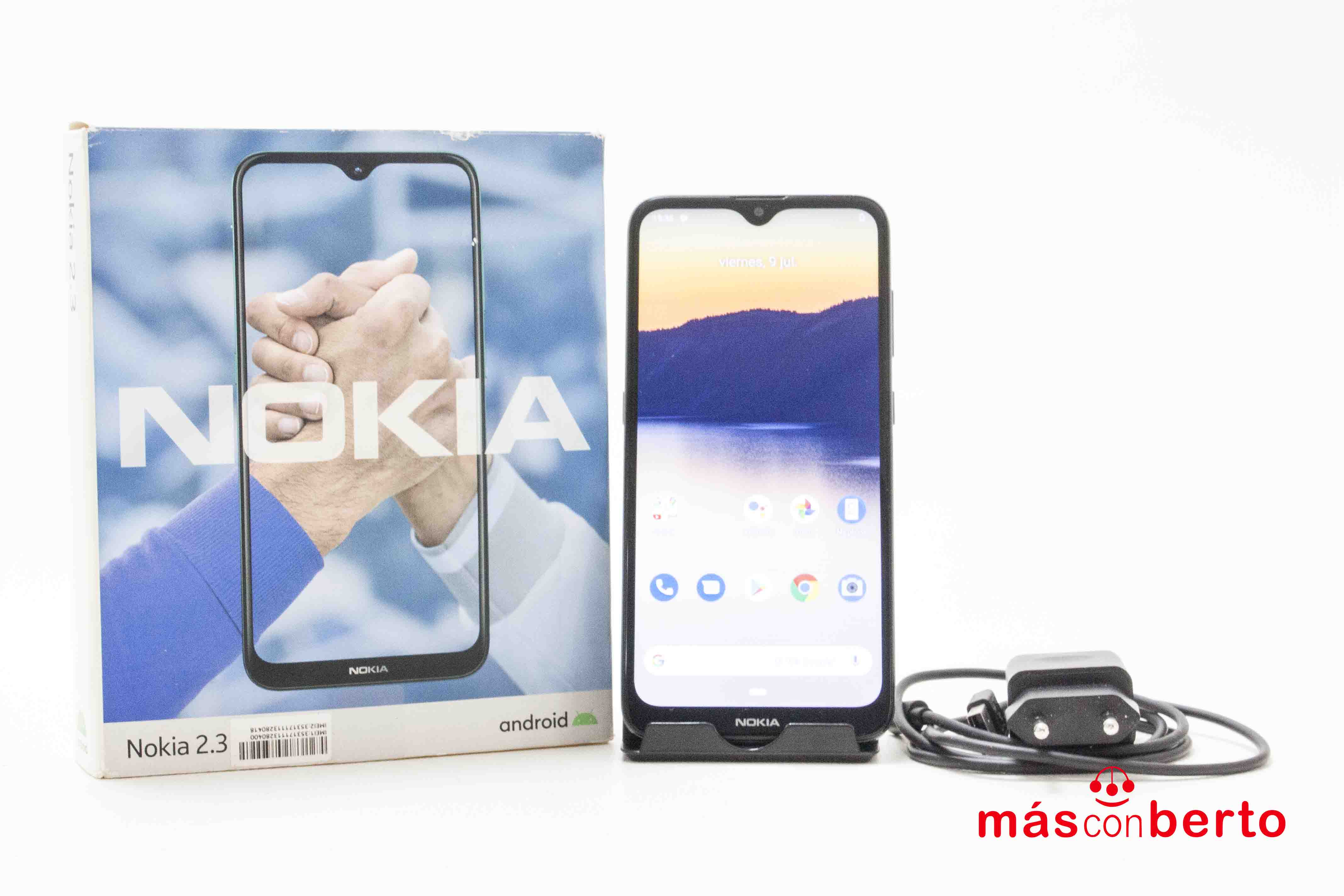 Móvil Nokia 2.3 32Gb Negro