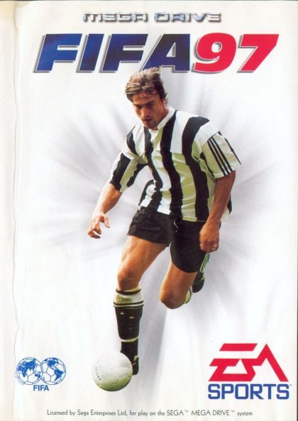 Juego Mega Drive Fifa 97