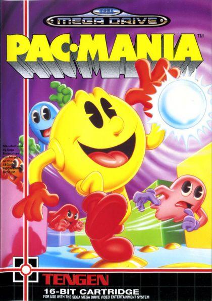 Juego Mega Drive Pac Mania