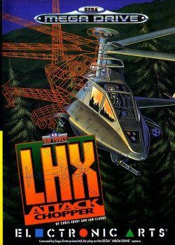 Juego Mega Drive LHX Attack...